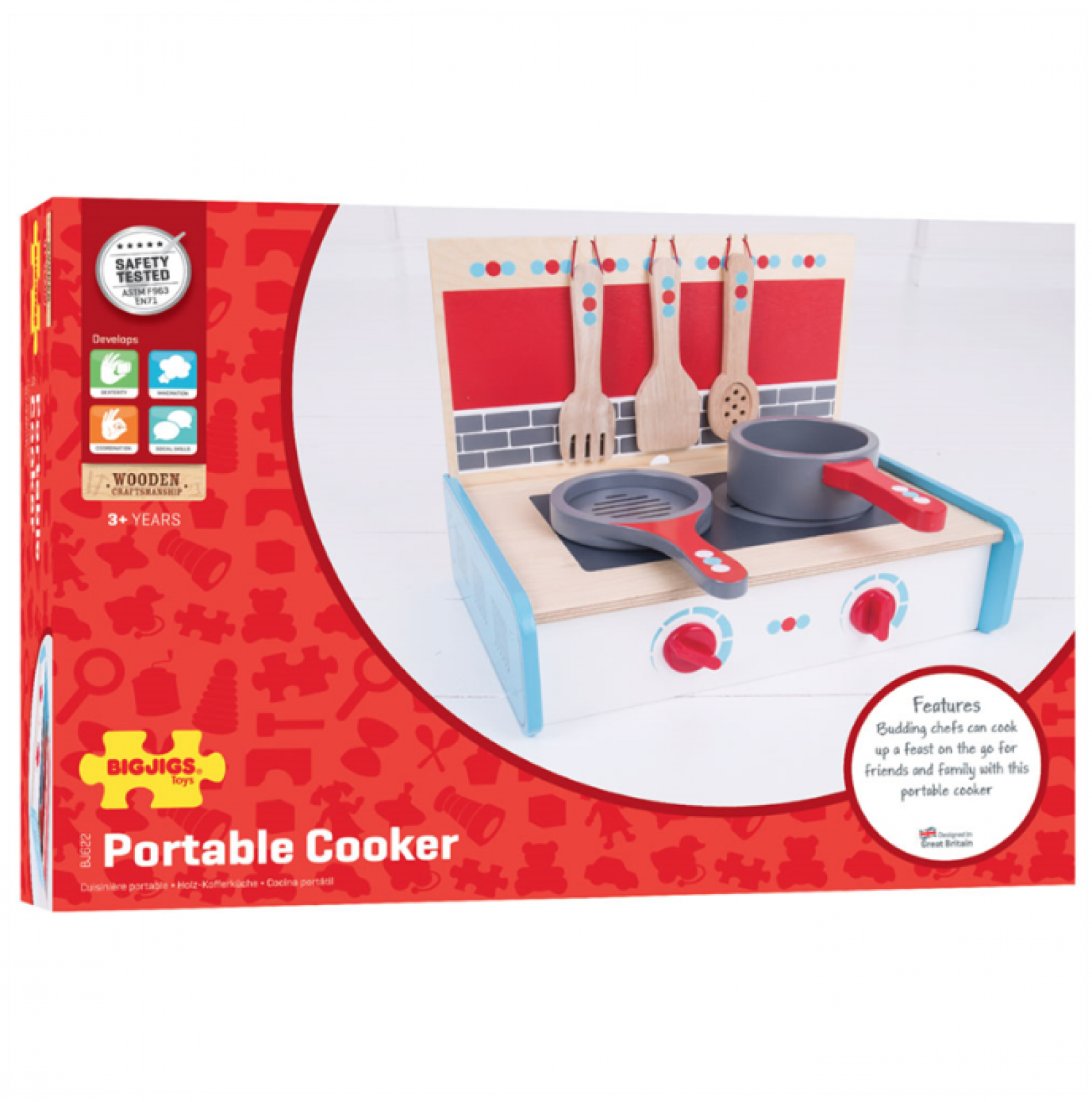 Portable Cooker Wooden Toy thumbnails