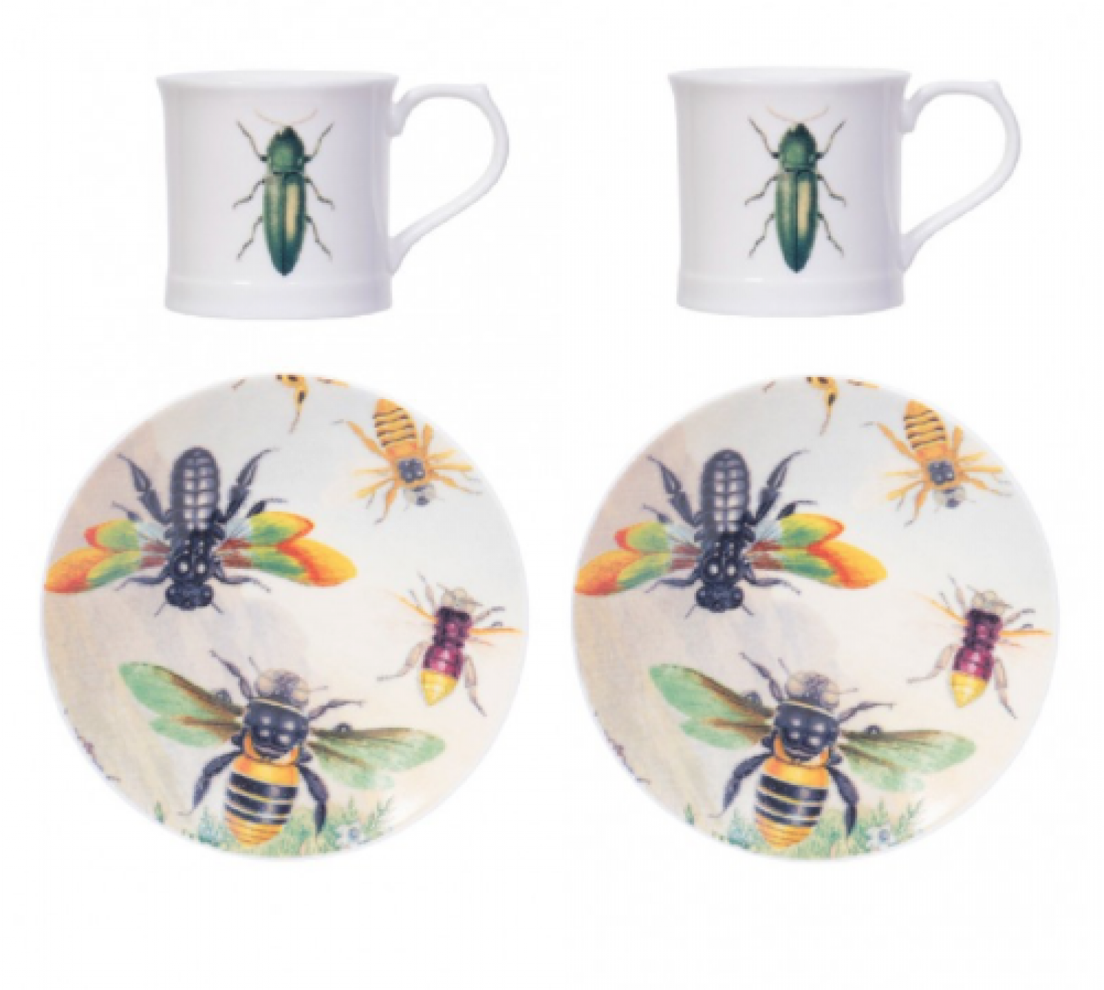 Green Beetle Espresso Set
