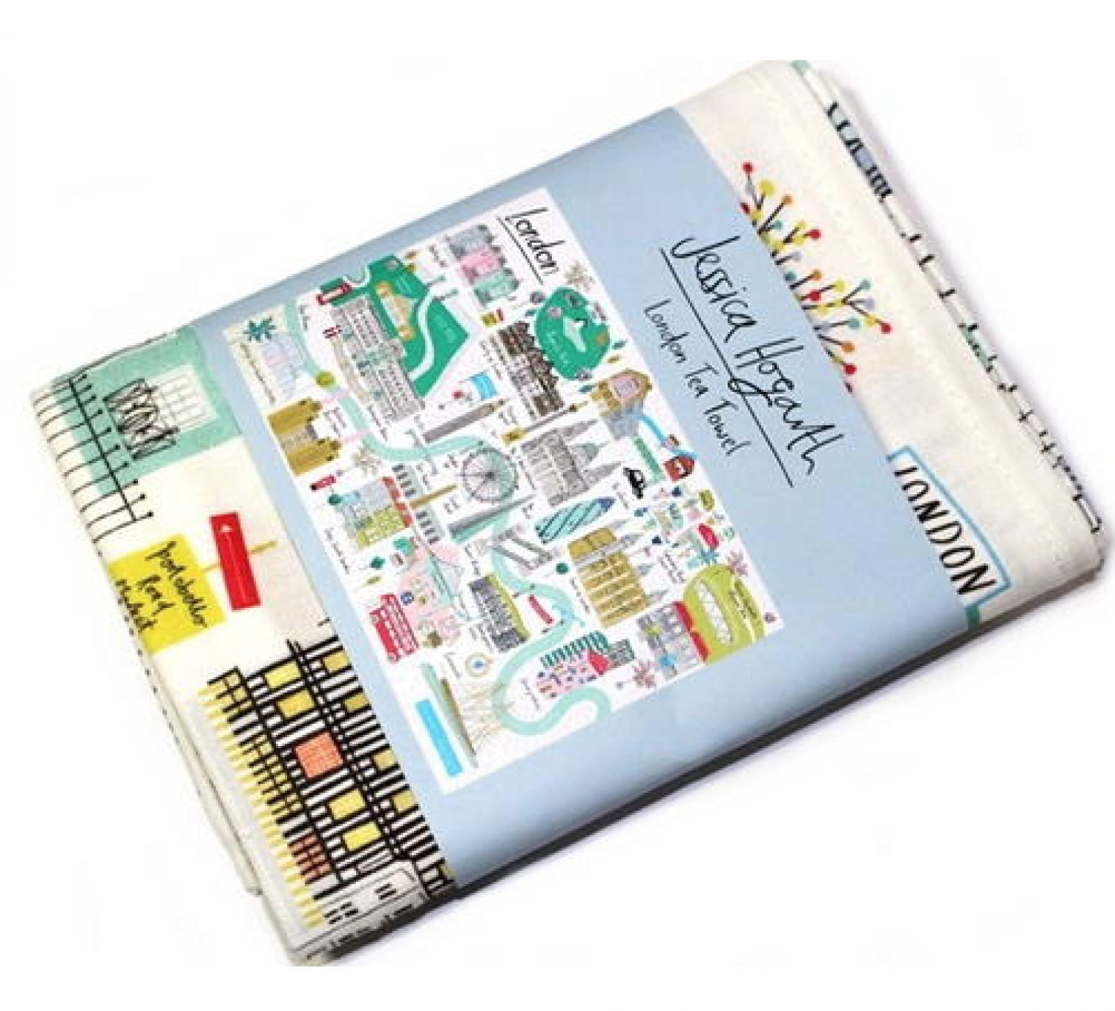 London Tea Towel By Jessica Hogath thumbnails