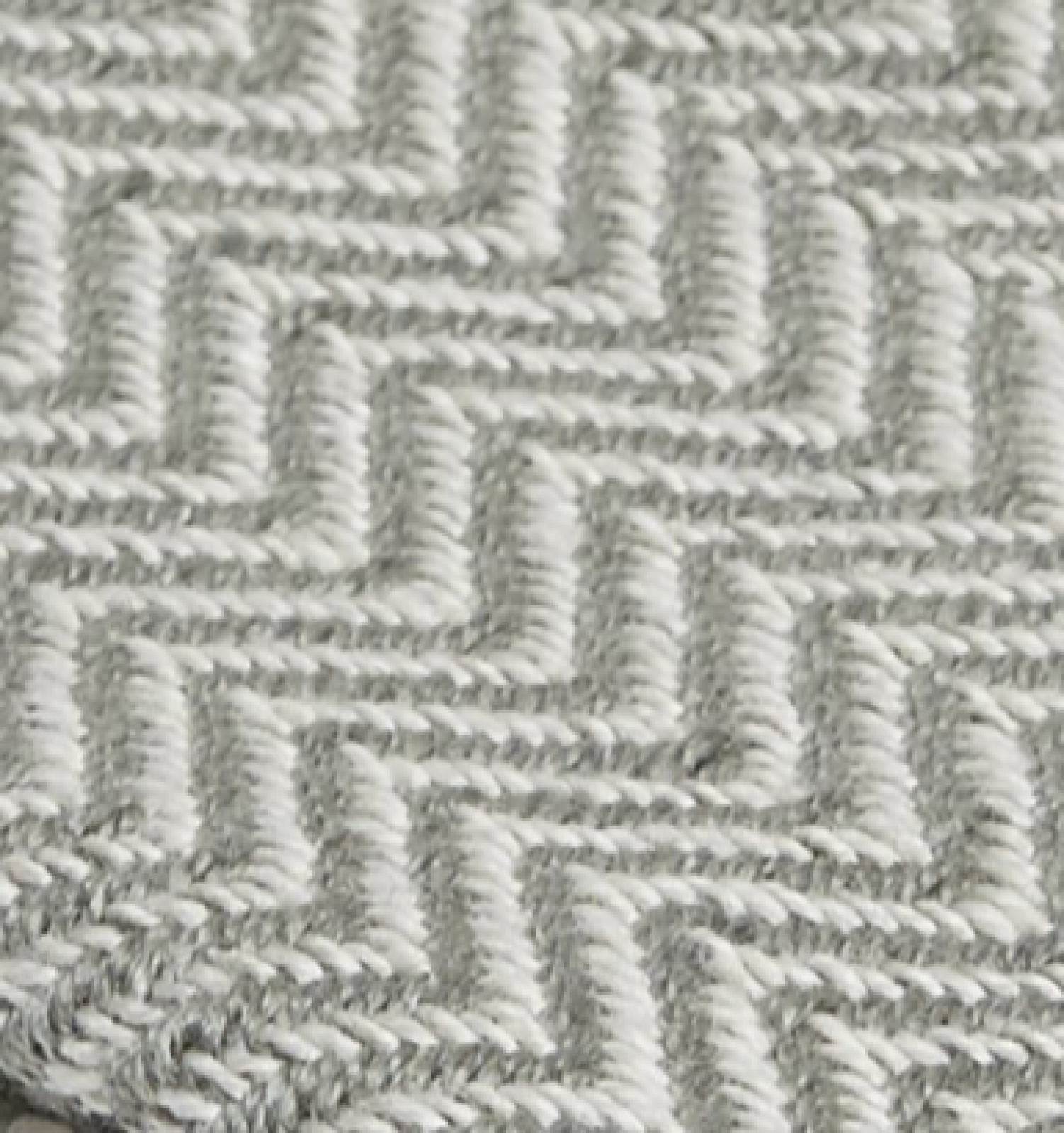 Grey Herringbone Blanket From Recycled Bottles thumbnails