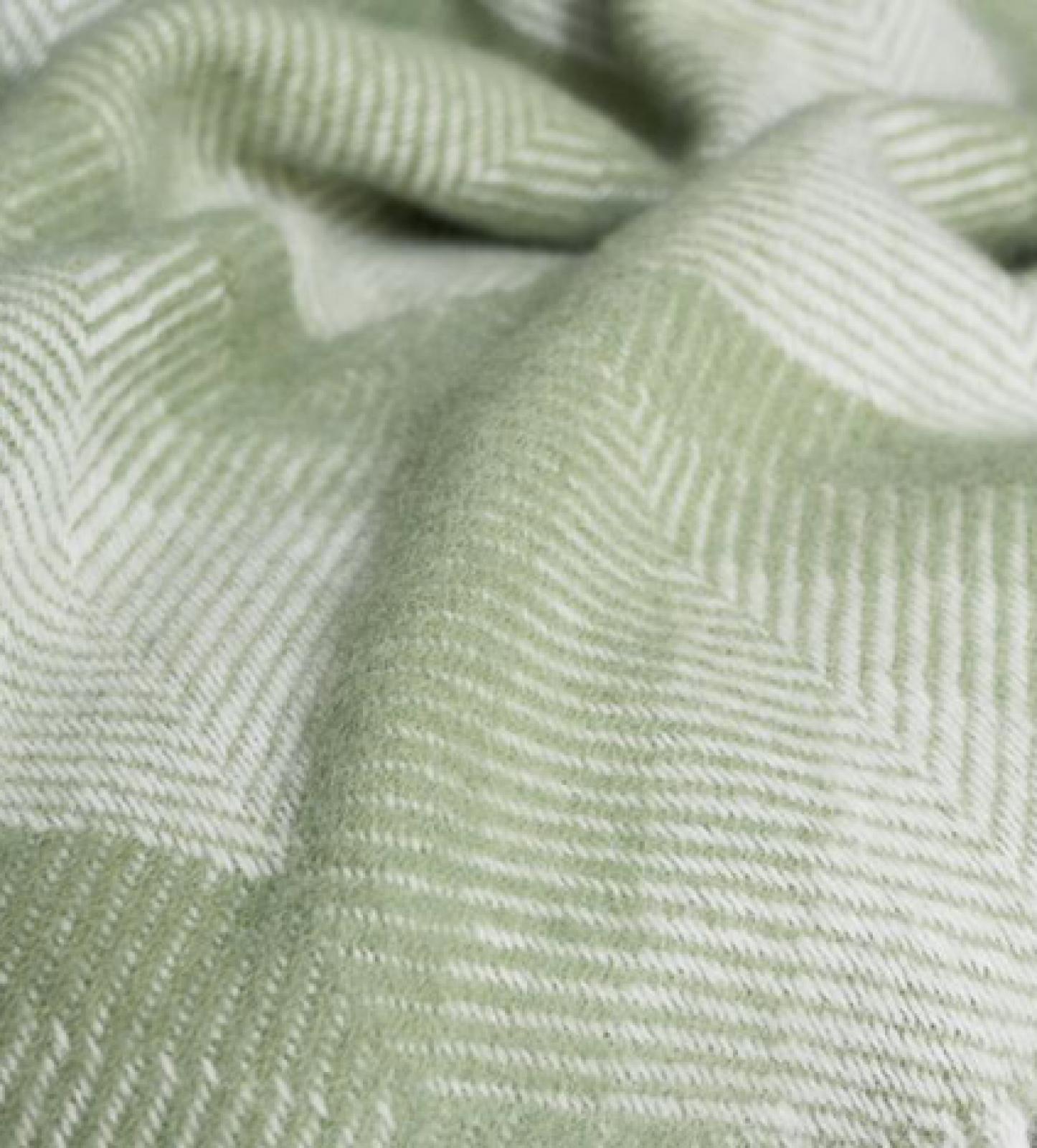 Prism Wool Blanket Fern 150x183cm thumbnails