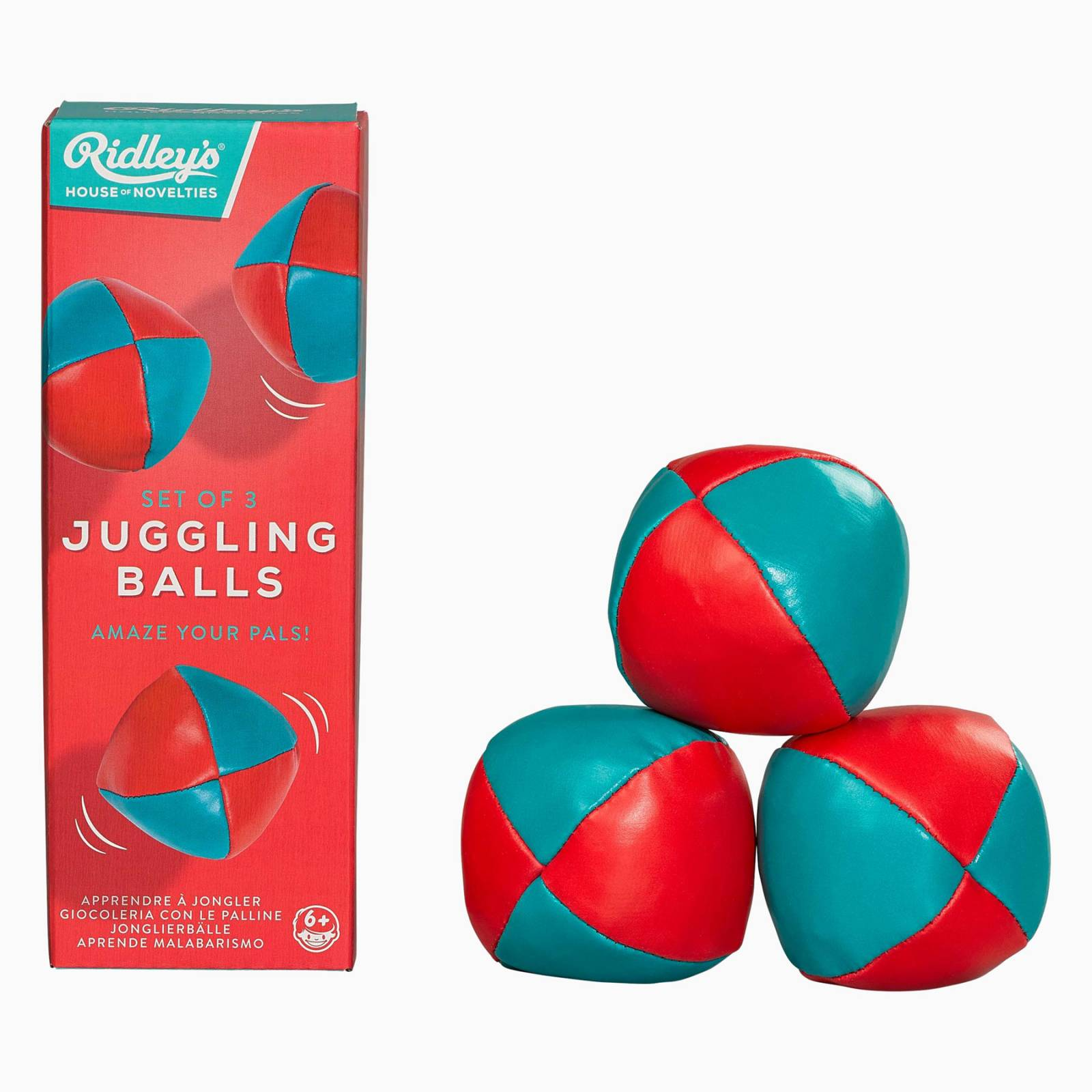 Box Of 3 Juggling Ball By Ridleys