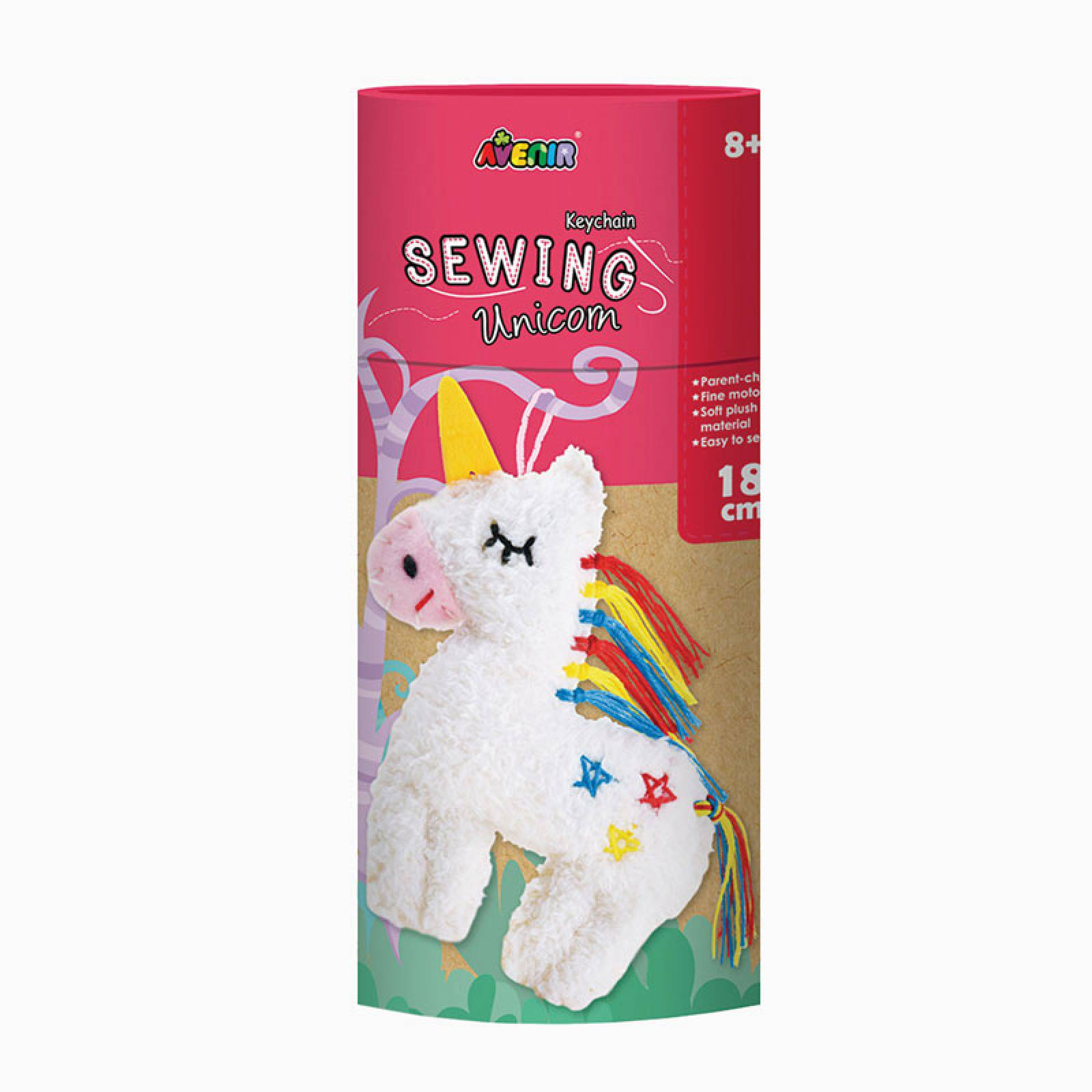 Keychain Sewing Kit - Unicorn 8+