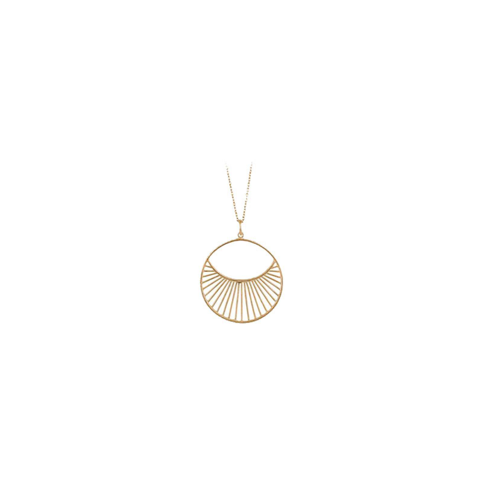 Short Daylight Necklace In Gold By Pernille Corydon