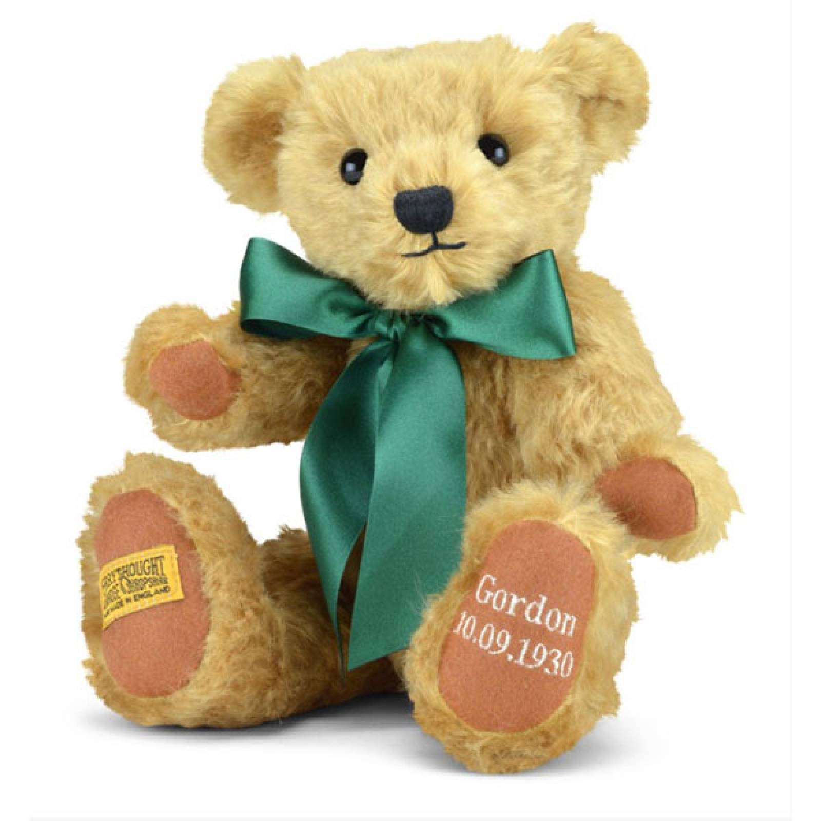 "Personalised Shrewsbury Teddy Bear 12"" Merrythought thumbnails"
