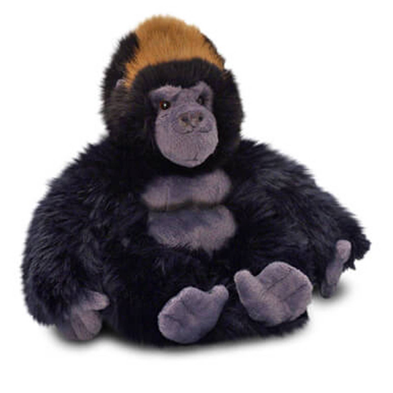 Sitting Gorilla Silverback Soft Toy 20cm