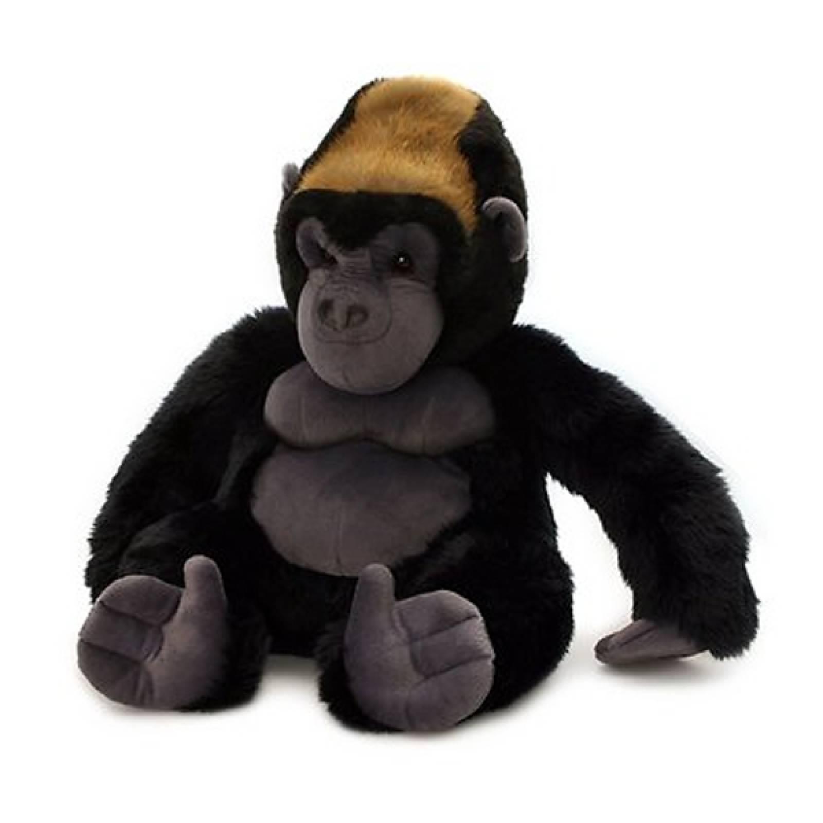 Sitting Gorilla Silverback Soft Toy 45cm