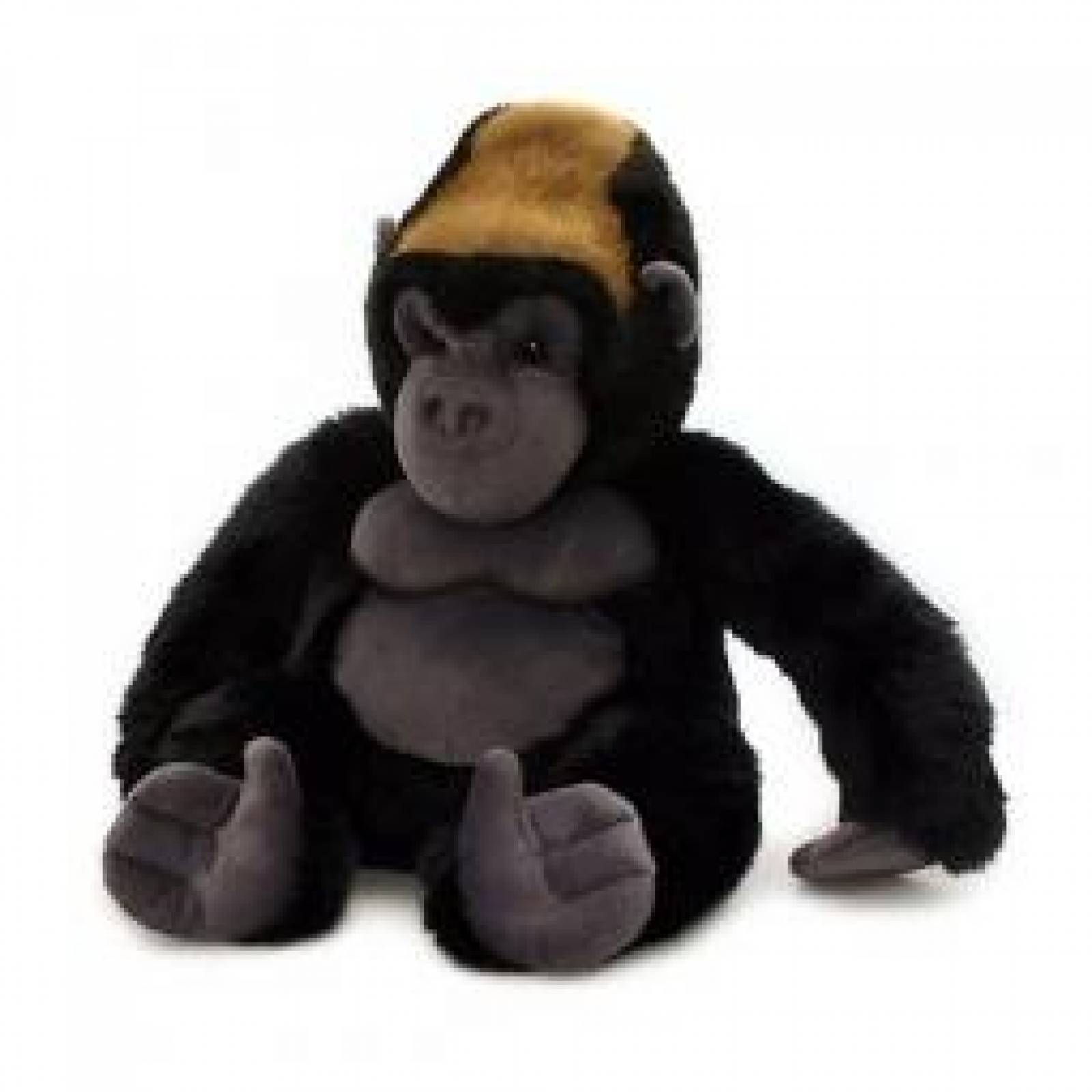 Sitting Gorilla Silverback Soft Toy 30cm