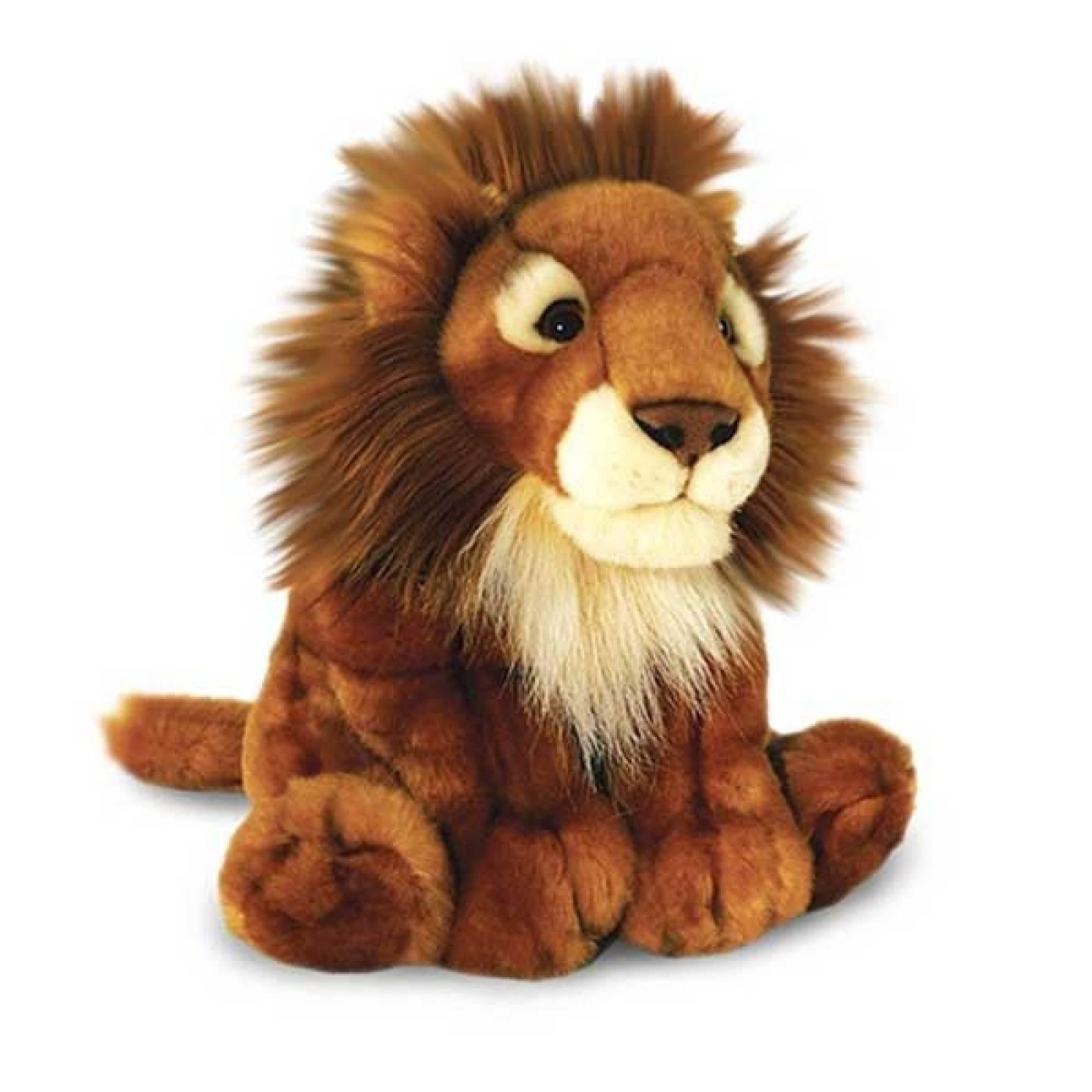 Sitting Lion Soft Toy