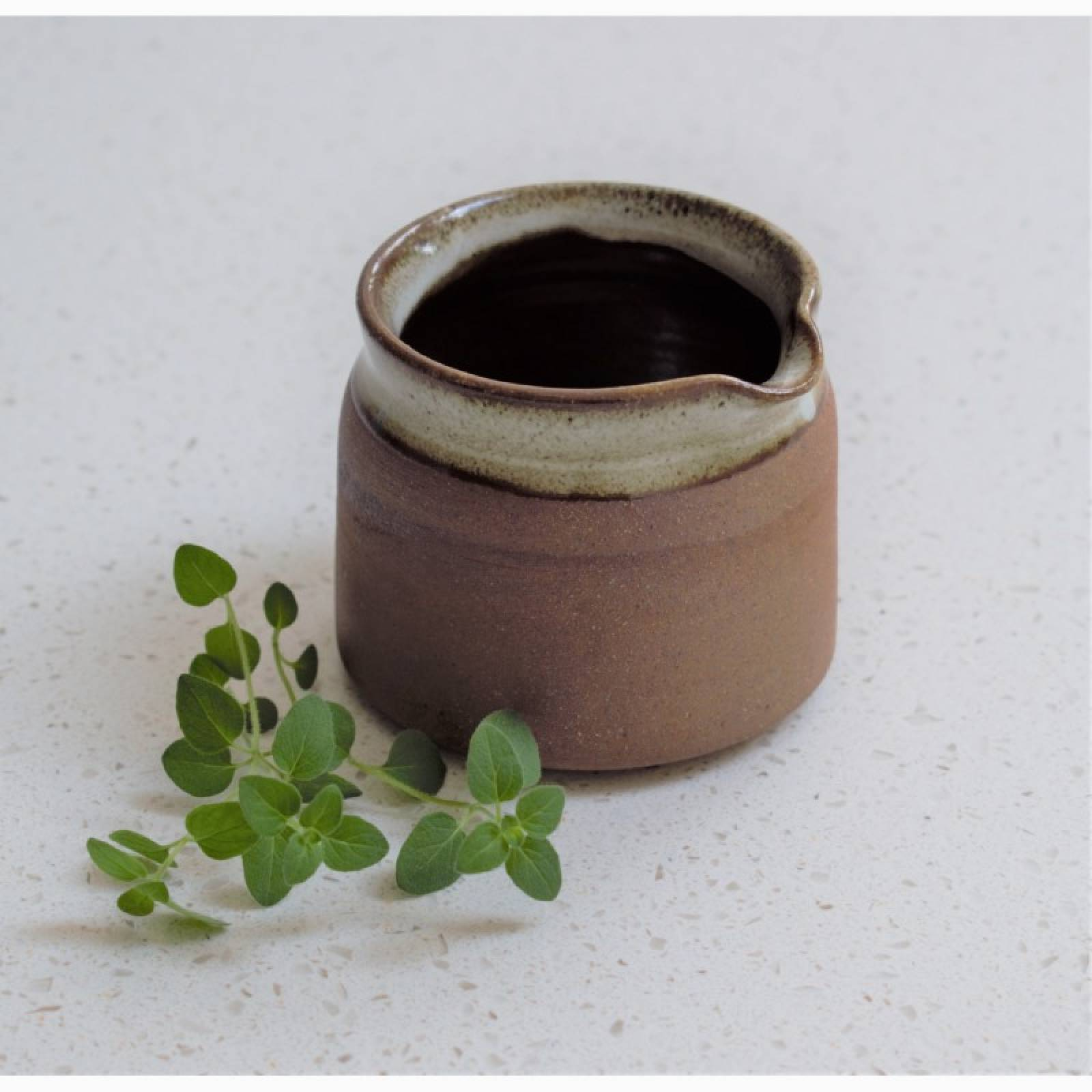 Small Ceramic Tawny Jug
