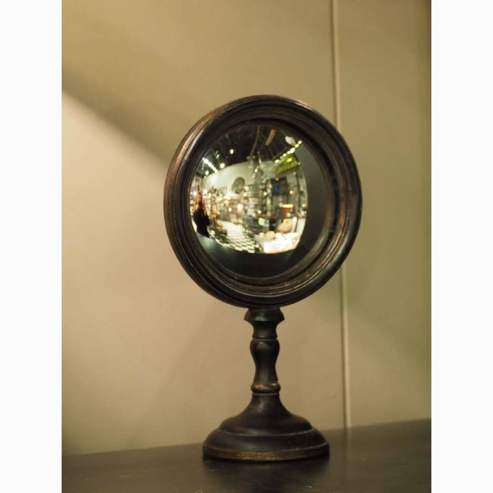 Small Convex Table Mirror On Stand thumbnails