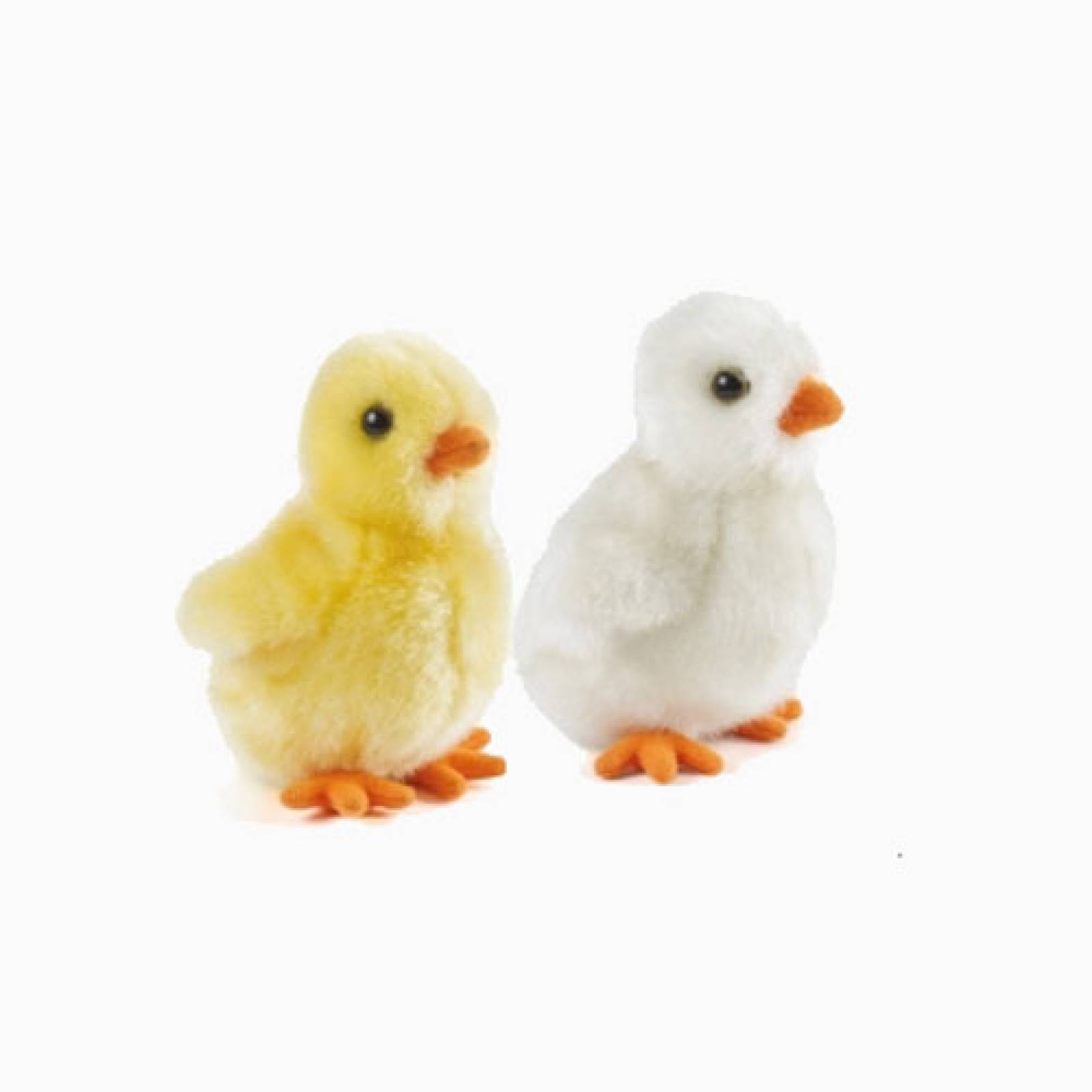 Small Fluffy Chick Soft Toy 0+