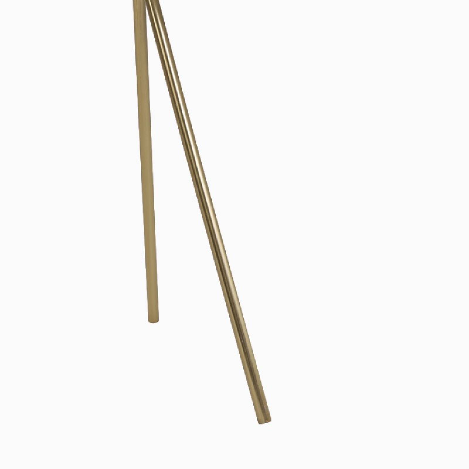 Small Green Marble Table Brass Tripod Legs | Delivery Surcharge thumbnails