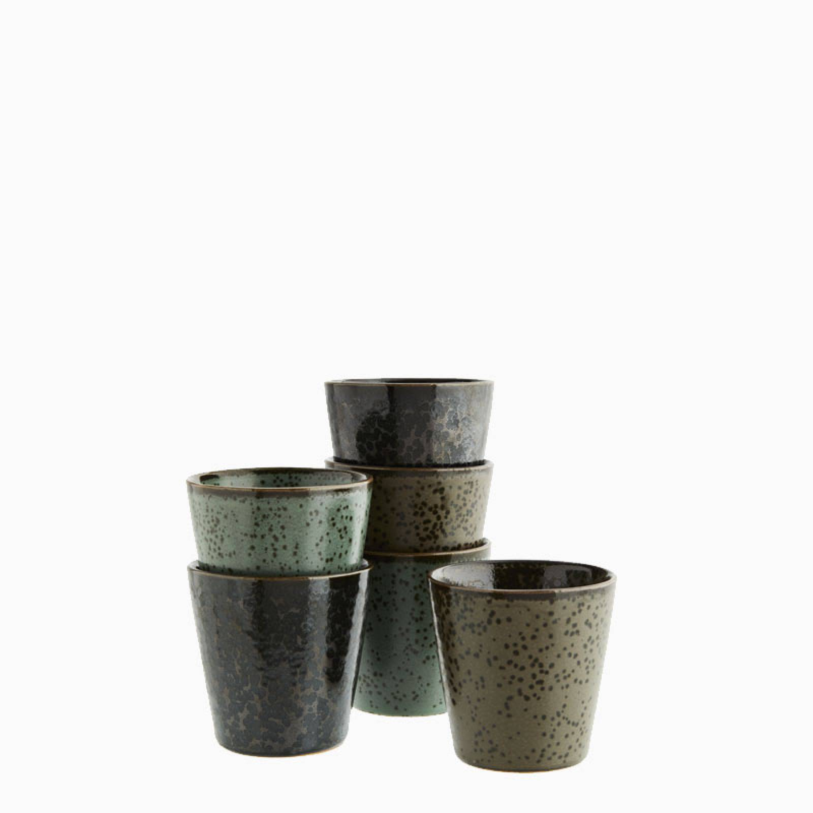 Small Stoneware Cups - Various Colours