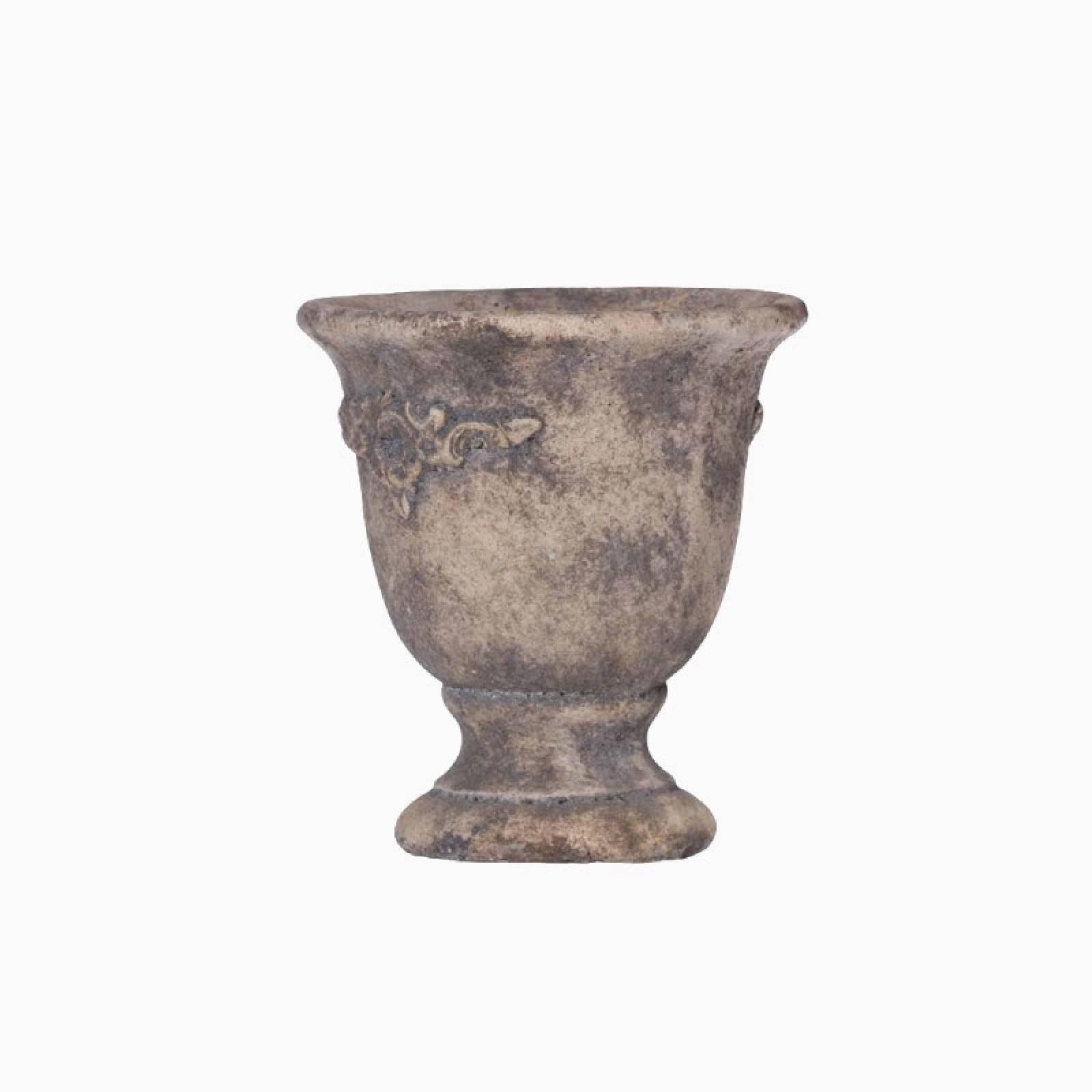 Small Terracotta Urn Shaped Plant Pot