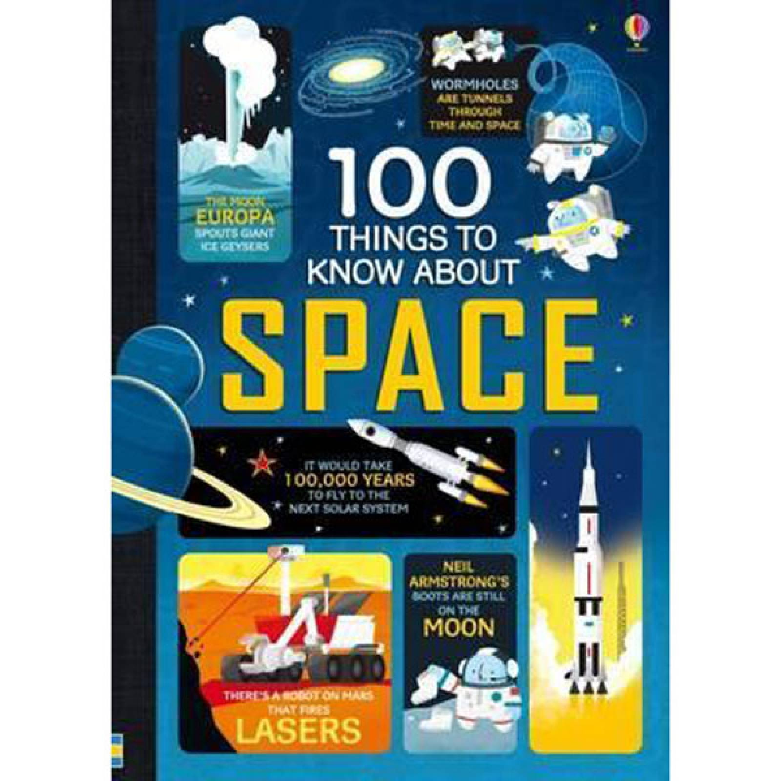 100 Things To Know About Space Hardback Book