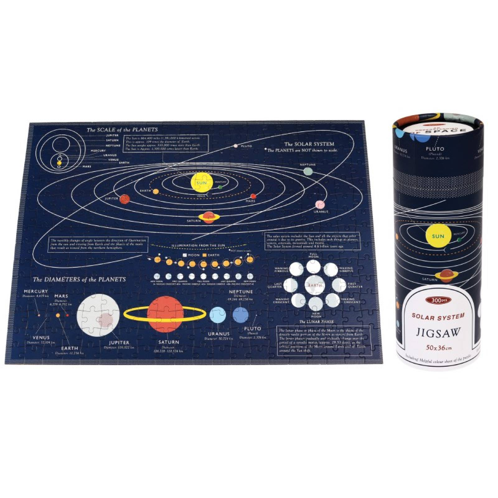 Space Age Puzzle In A Tube