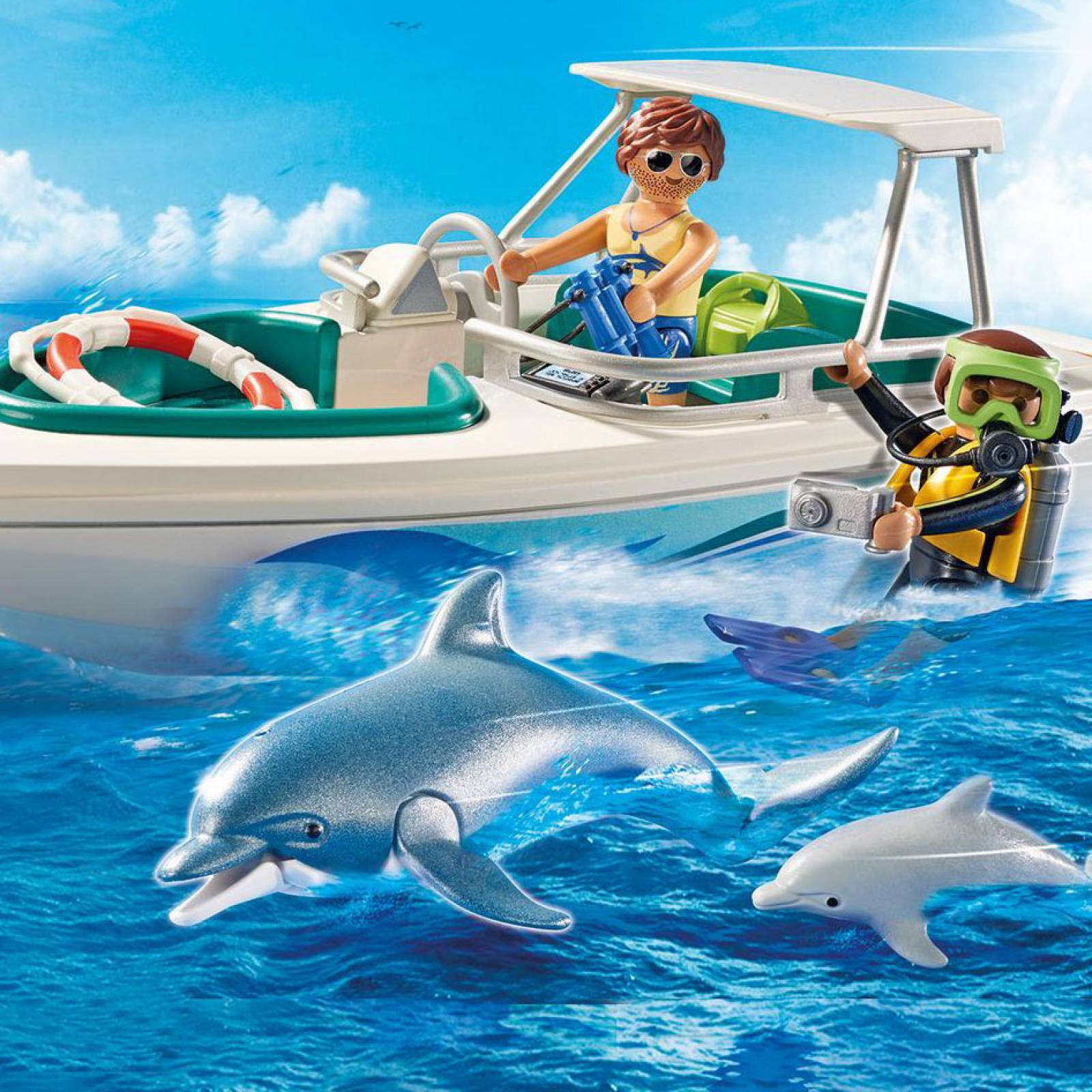 Driving Trip With Speedboat Playmobil 6981 thumbnails