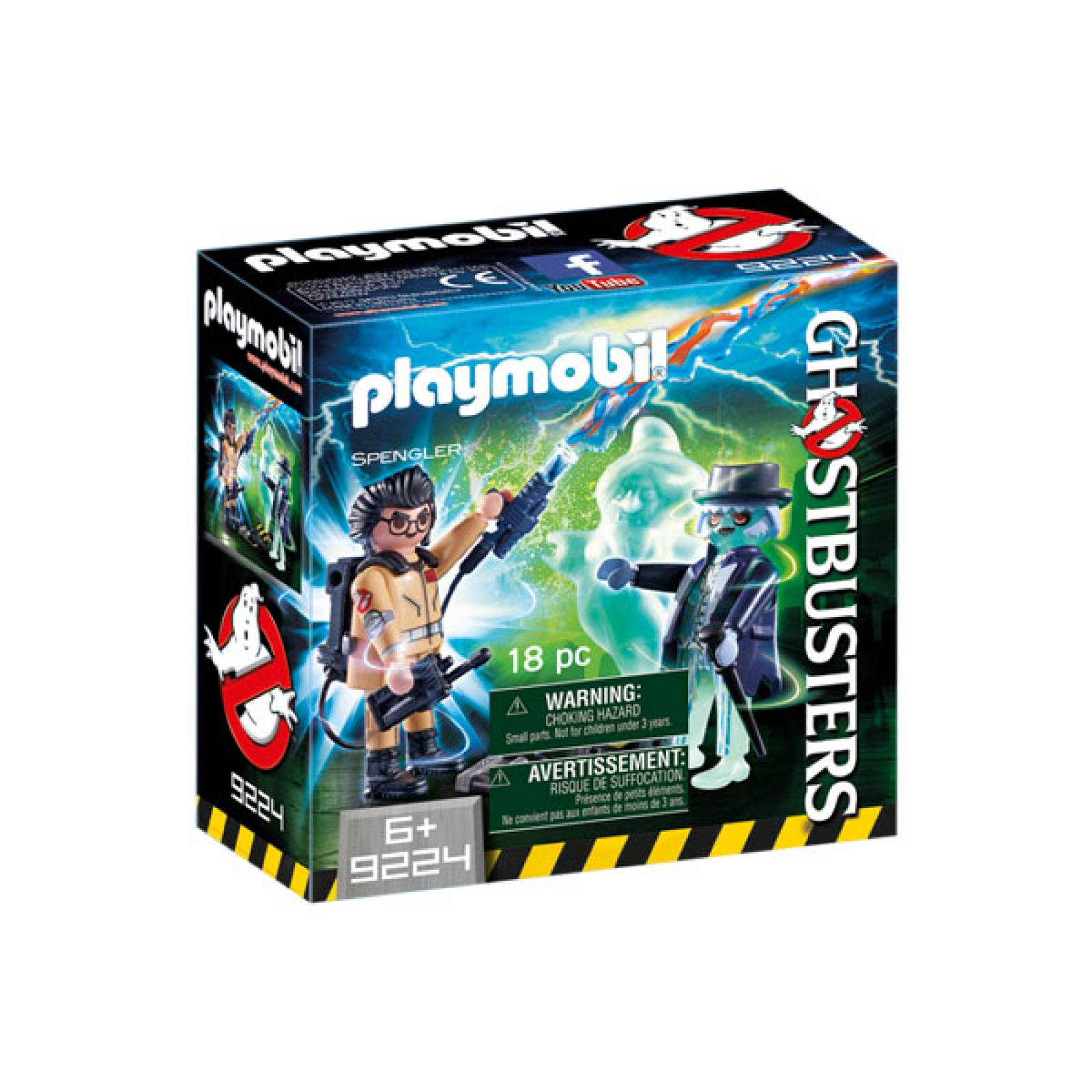 Ghostbusters™ Spengler And Ghost Playmobil 9224 thumbnails