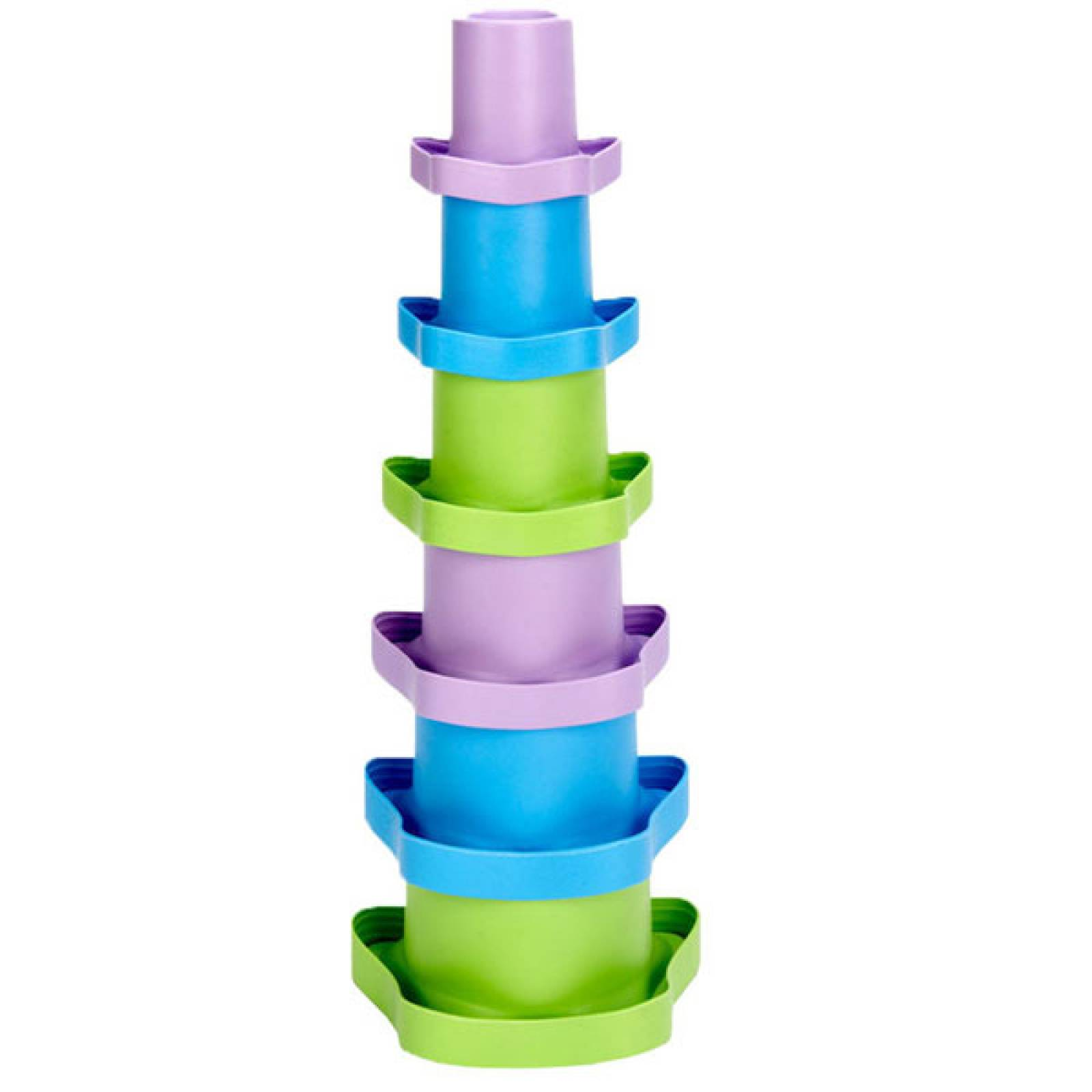 My First Stacking Cups By Green Toys - Recycled Plastic 6m+