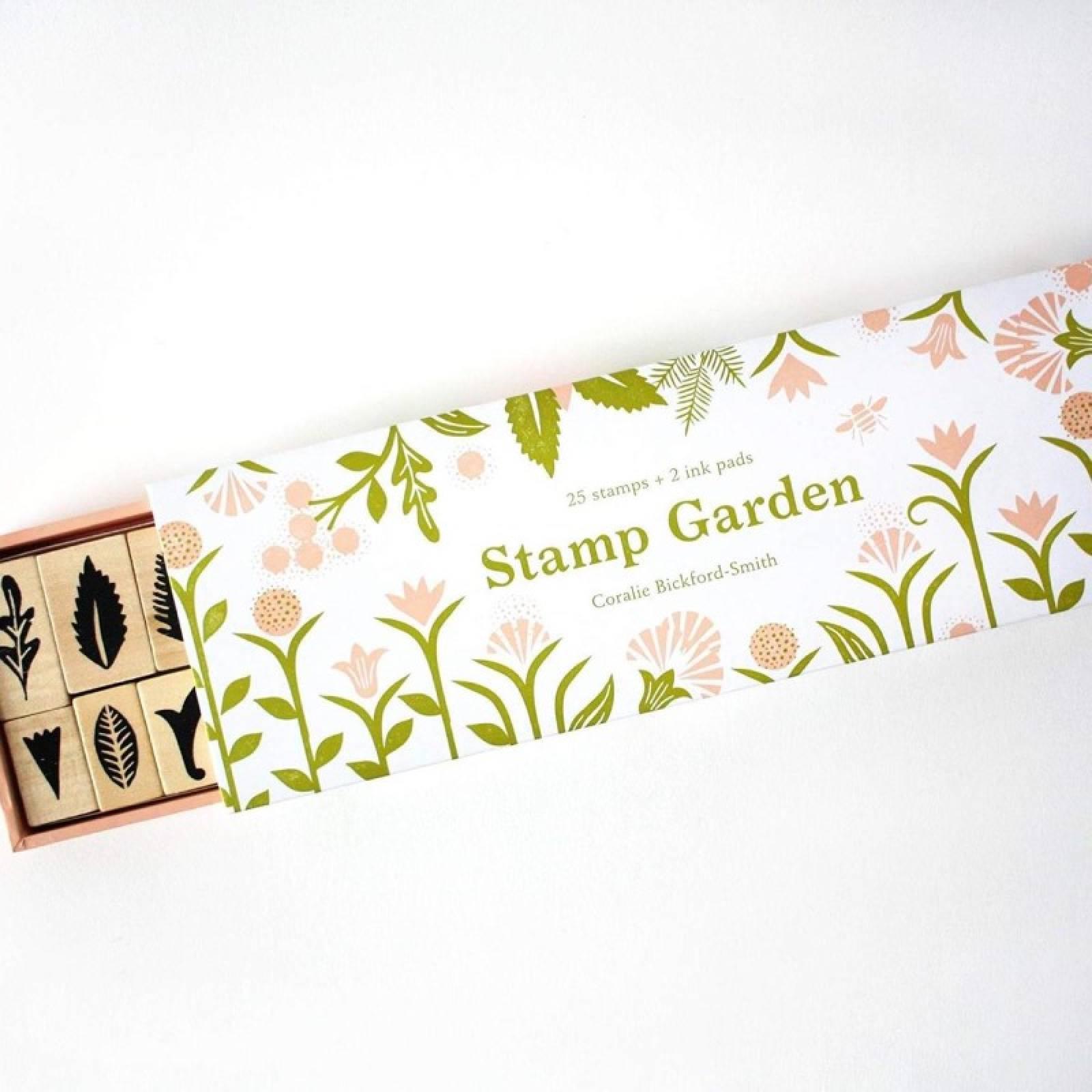 Stamp Garden - 25 Piece Wooden Stamp Set