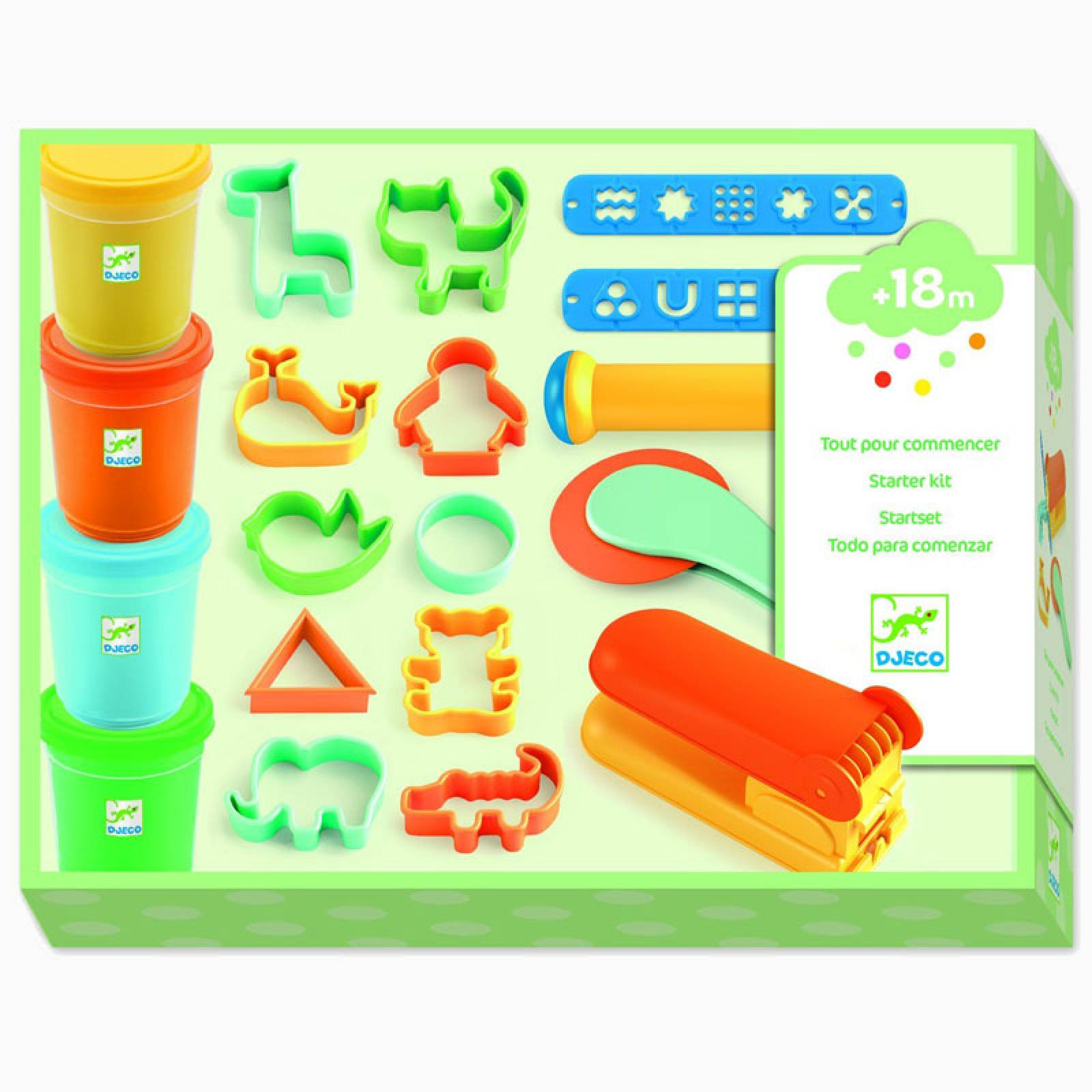 Modelling Clay Starter Set By Djeco 18m+