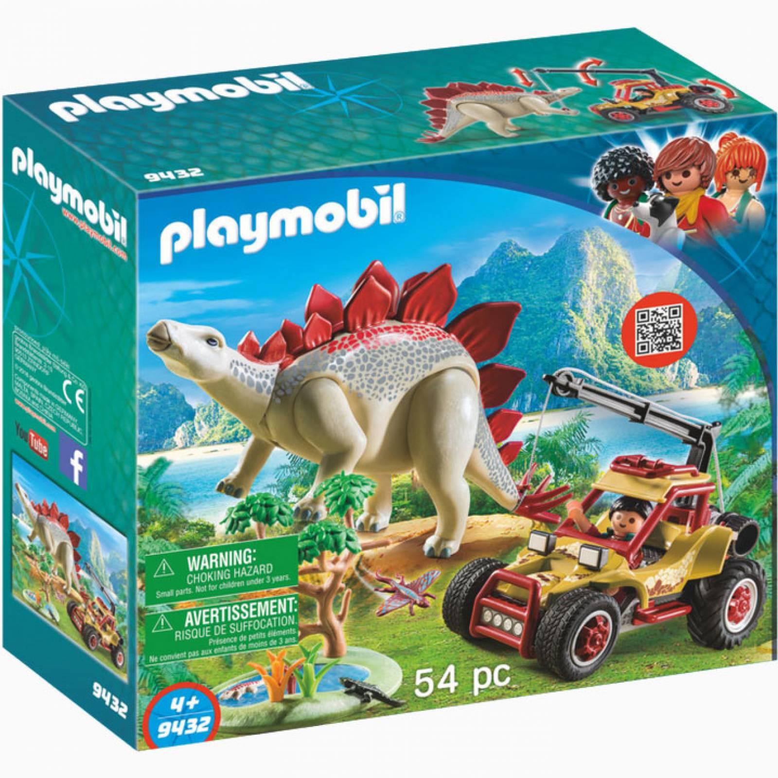 Explorer Vehicle With Stegosaurus Playmobil Dinosaurs 9432 thumbnails