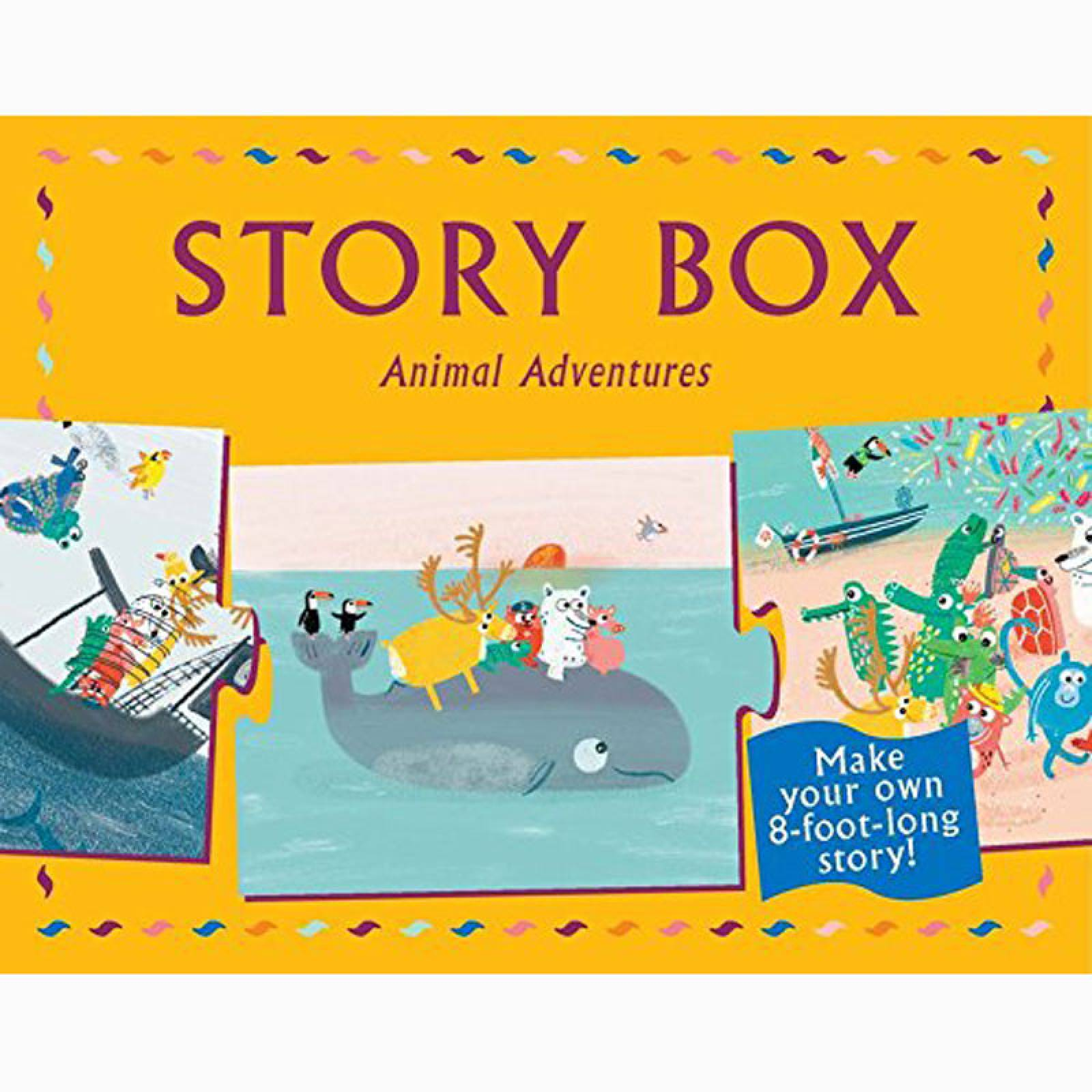 Story Box - Create Your Own Animal Adventures 3+