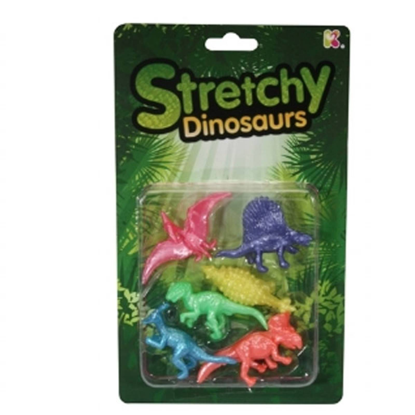 Pack Of Stretchy Dinosaurs