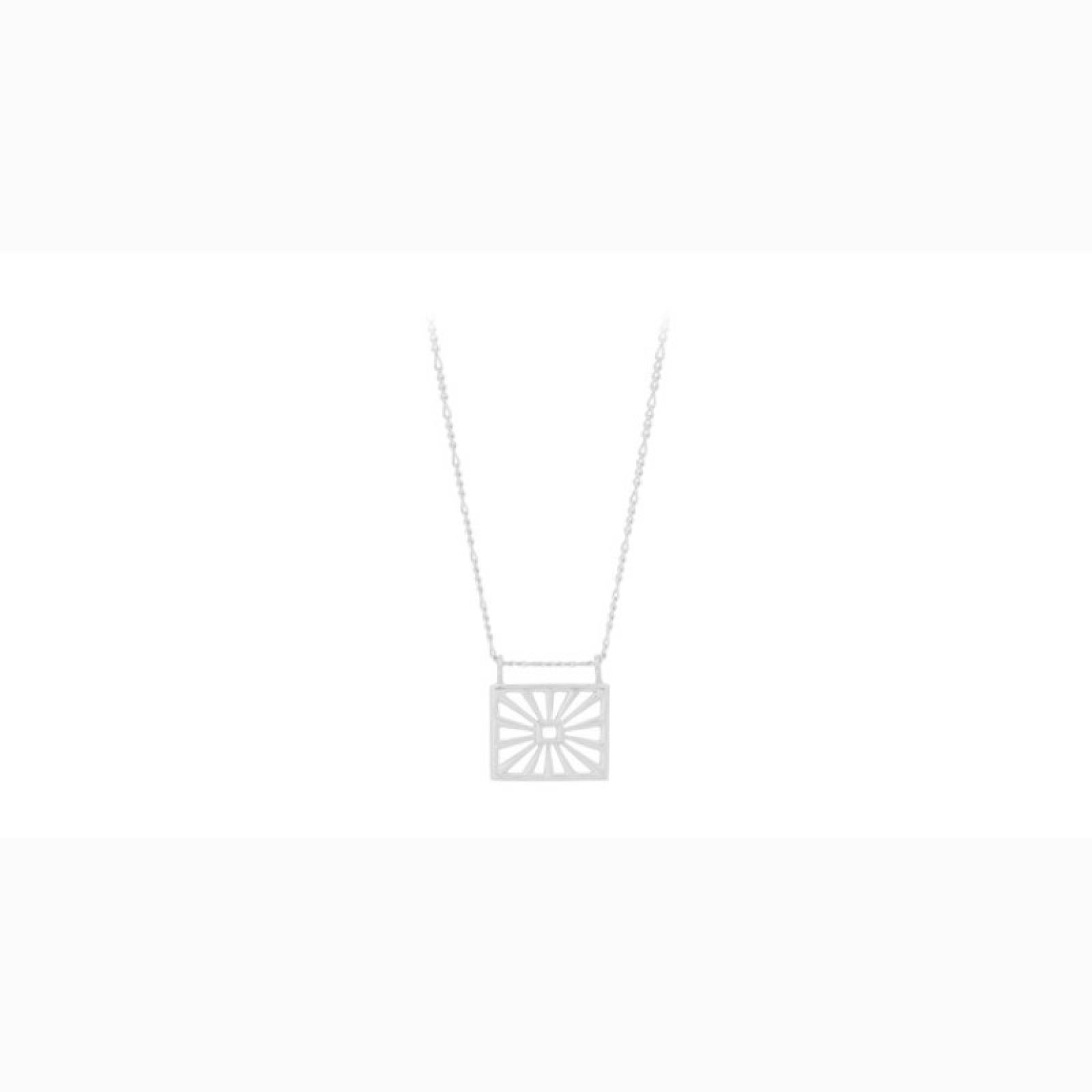 Sunrise Necklace In Silver By Pernillle Corydon