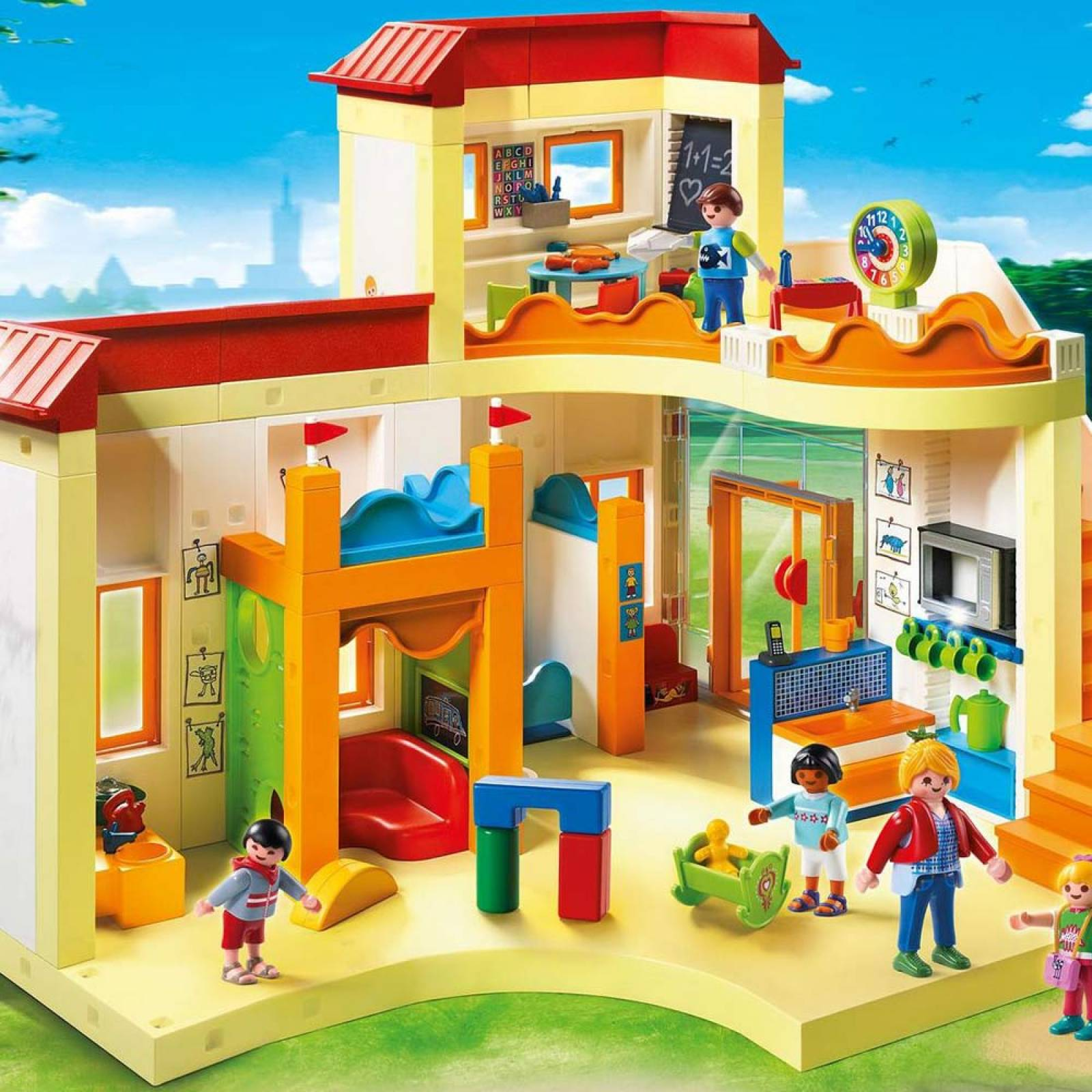 Playmobil Sunshine Preschool City Life 5567 Age 4+