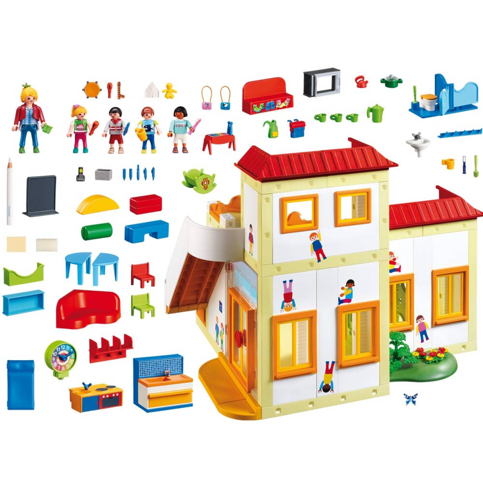 Playmobil Sunshine Preschool City Life 5567 Age 4+ thumbnails