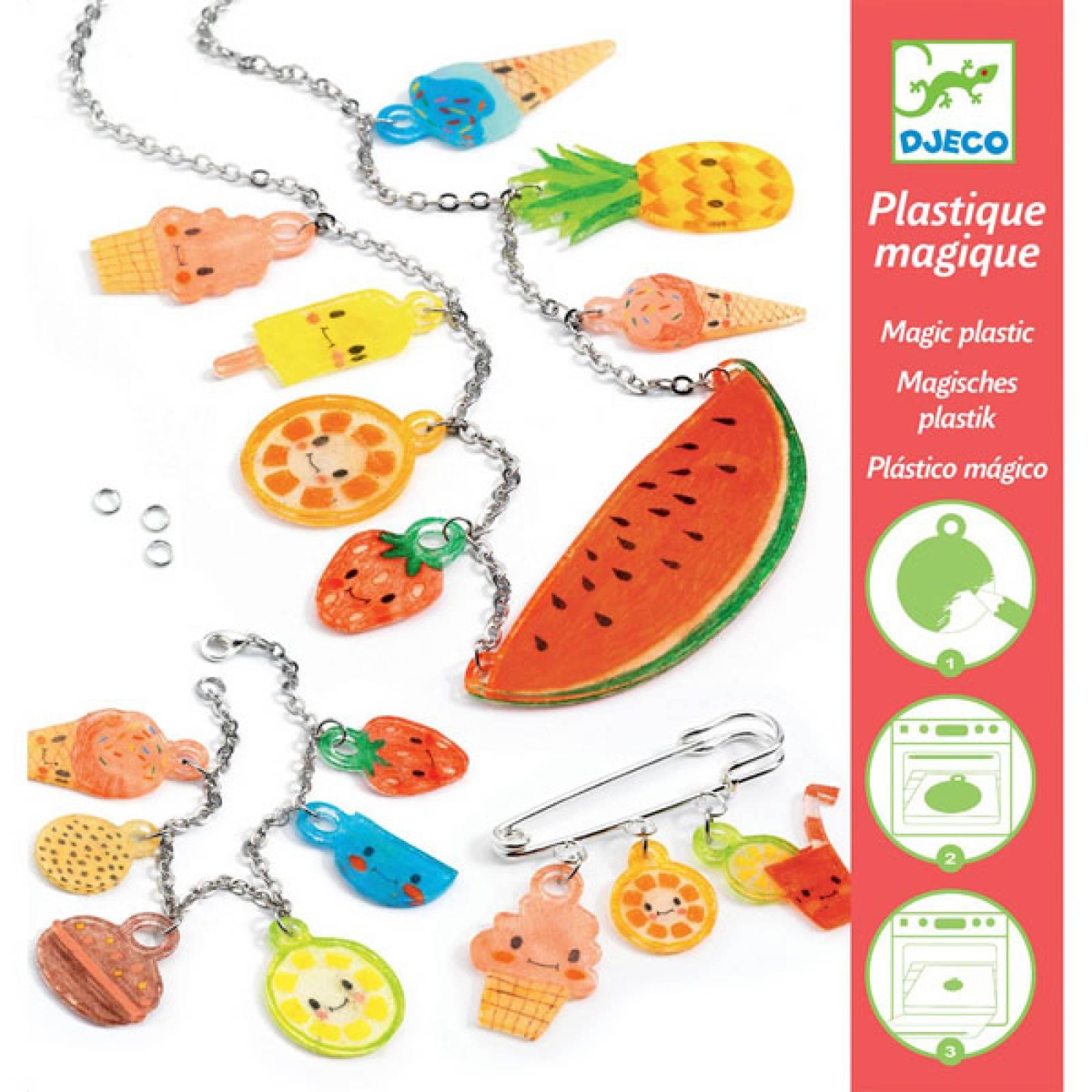 Sweet Treats Magic Plastic Kit By Djeco 7-13yrs