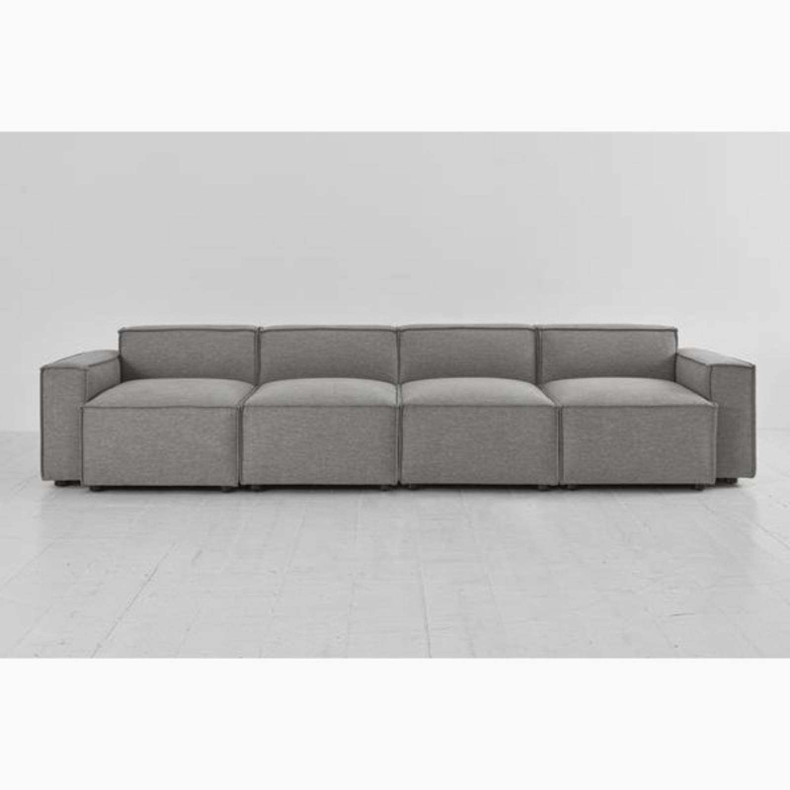 Swyft Model 03 - 4 Seater Sofa - Linen Shadow thumbnails