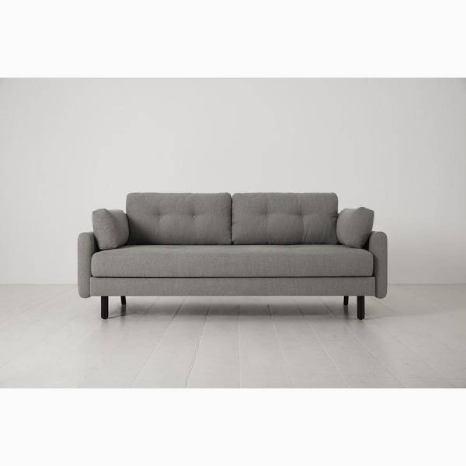 Swyft - Model 04 - 3 Seater Sofa Bed - Linen Shadow