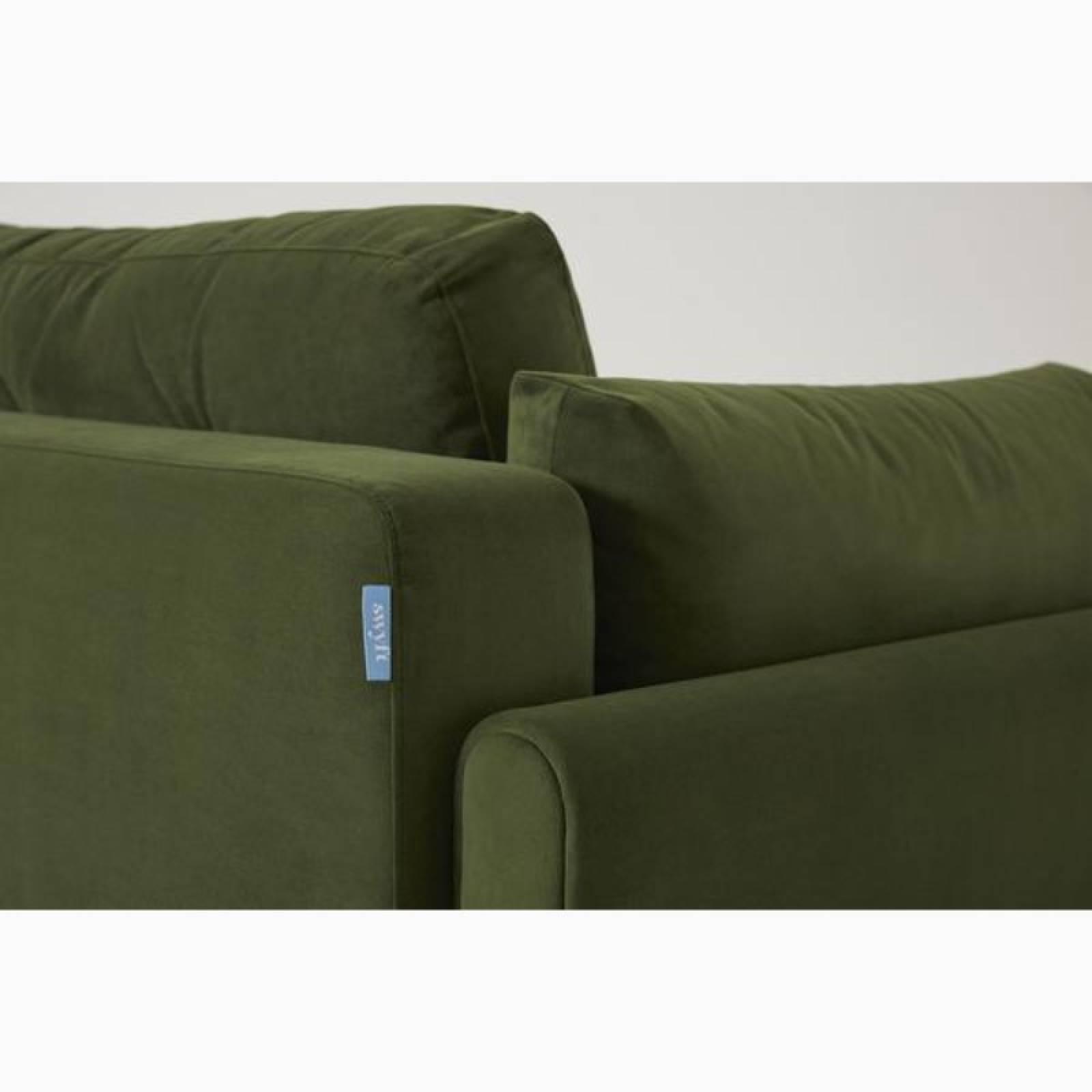 Swyft - Model 04 - 3 Seater Sofa Bed - Velvet Vine thumbnails