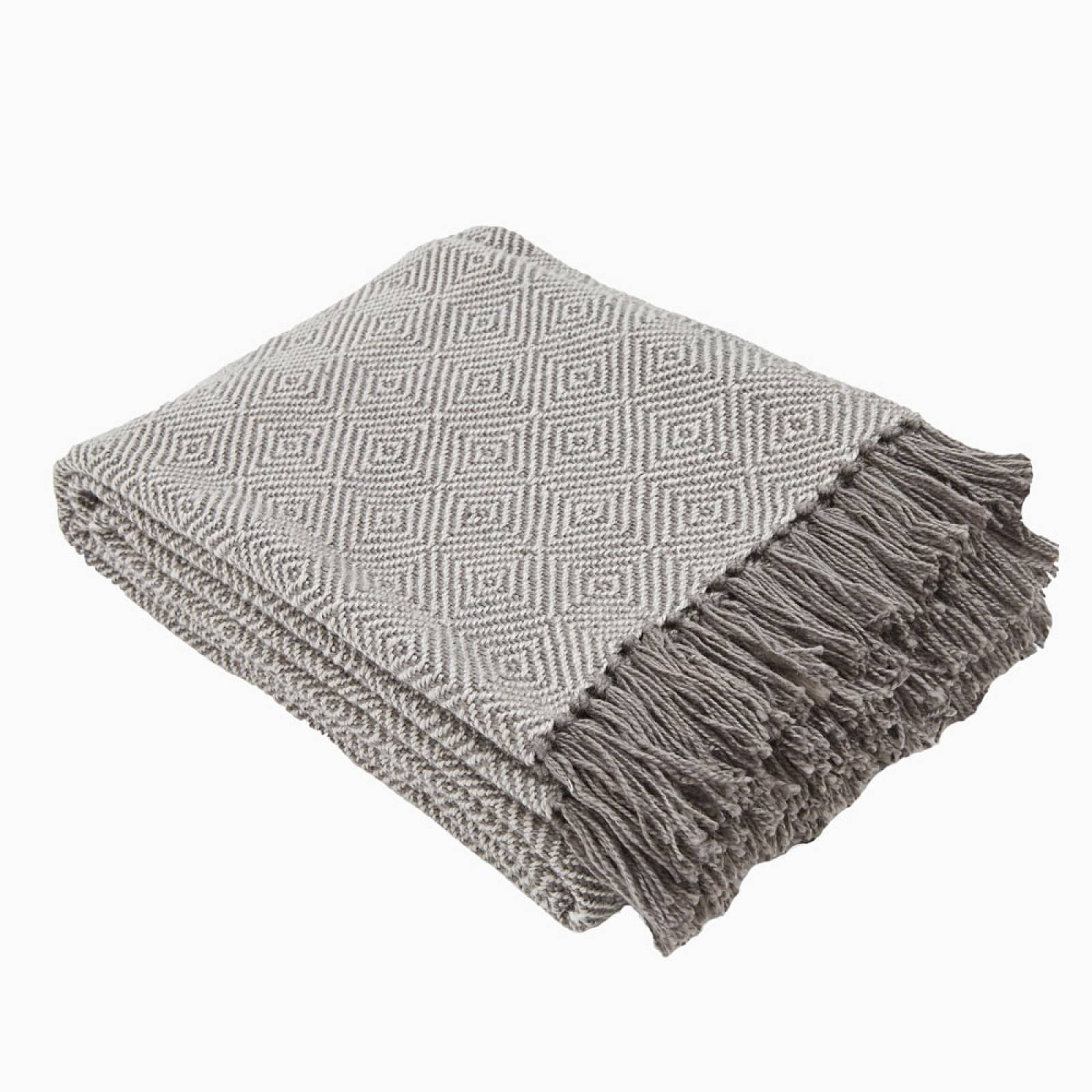 Tabby Diamond Blanket Made From Recycled Bottles