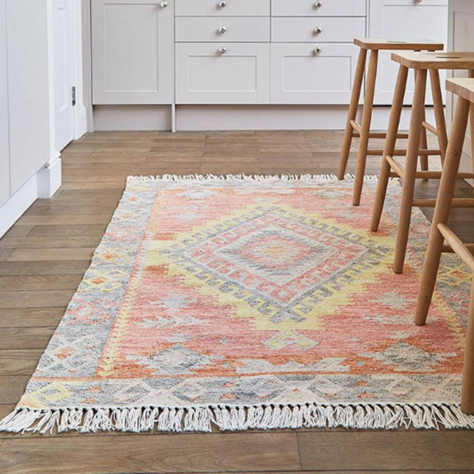 Tarifa Kilim Rug Runner 240x70cm Recycled Bottle Rug thumbnails