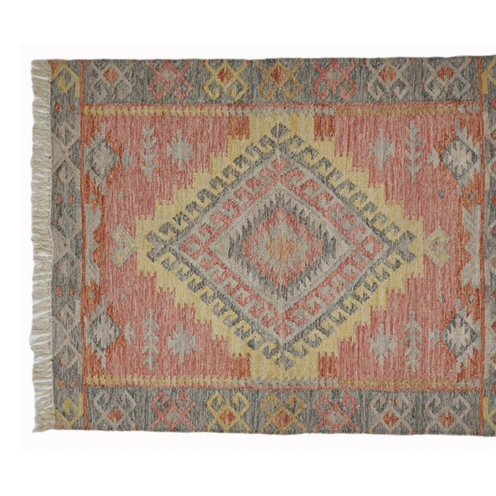Tarifa Kilim Rug Runner 240x70cm Recycled Bottle Rug
