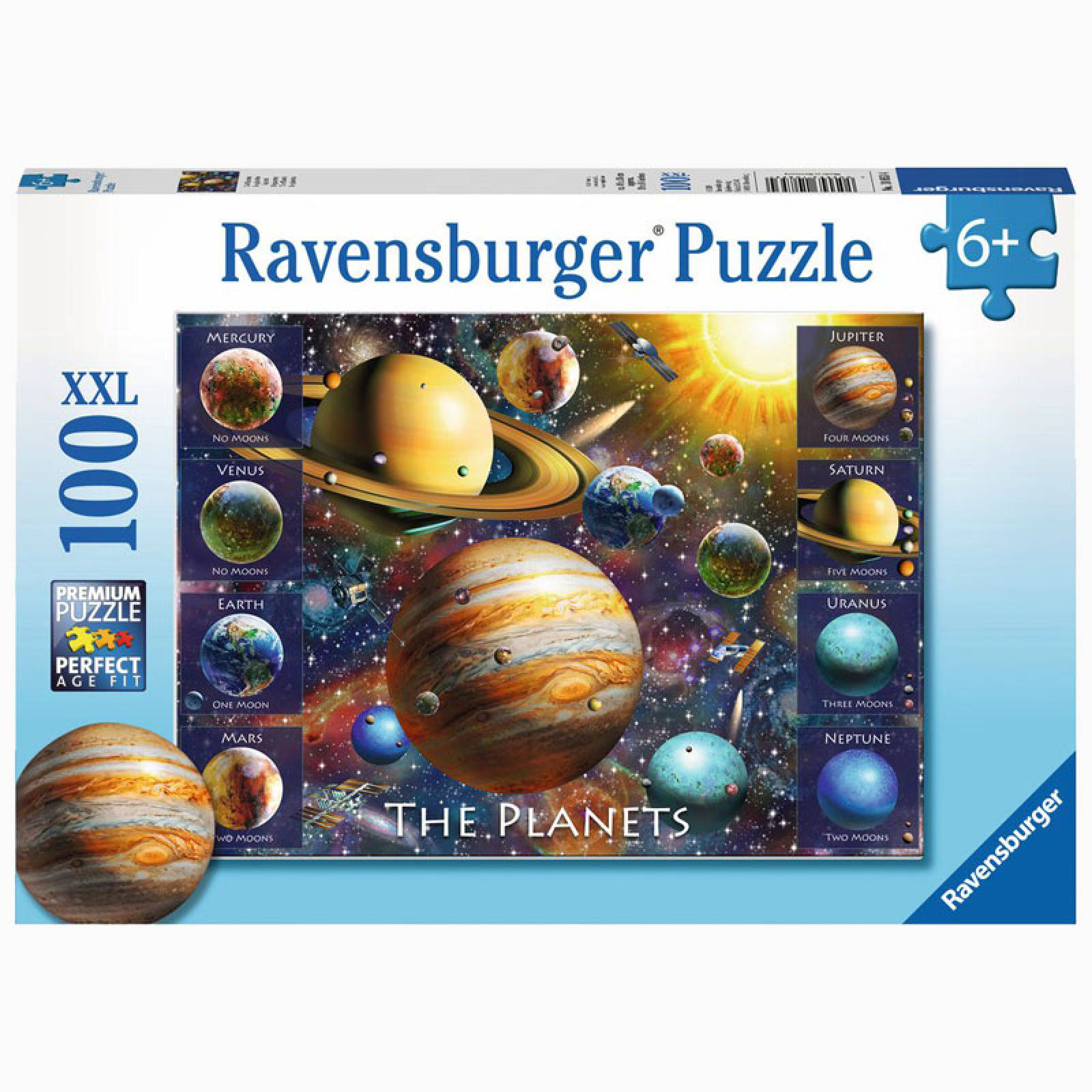 The Planets 100 Piece Puzzle 6+