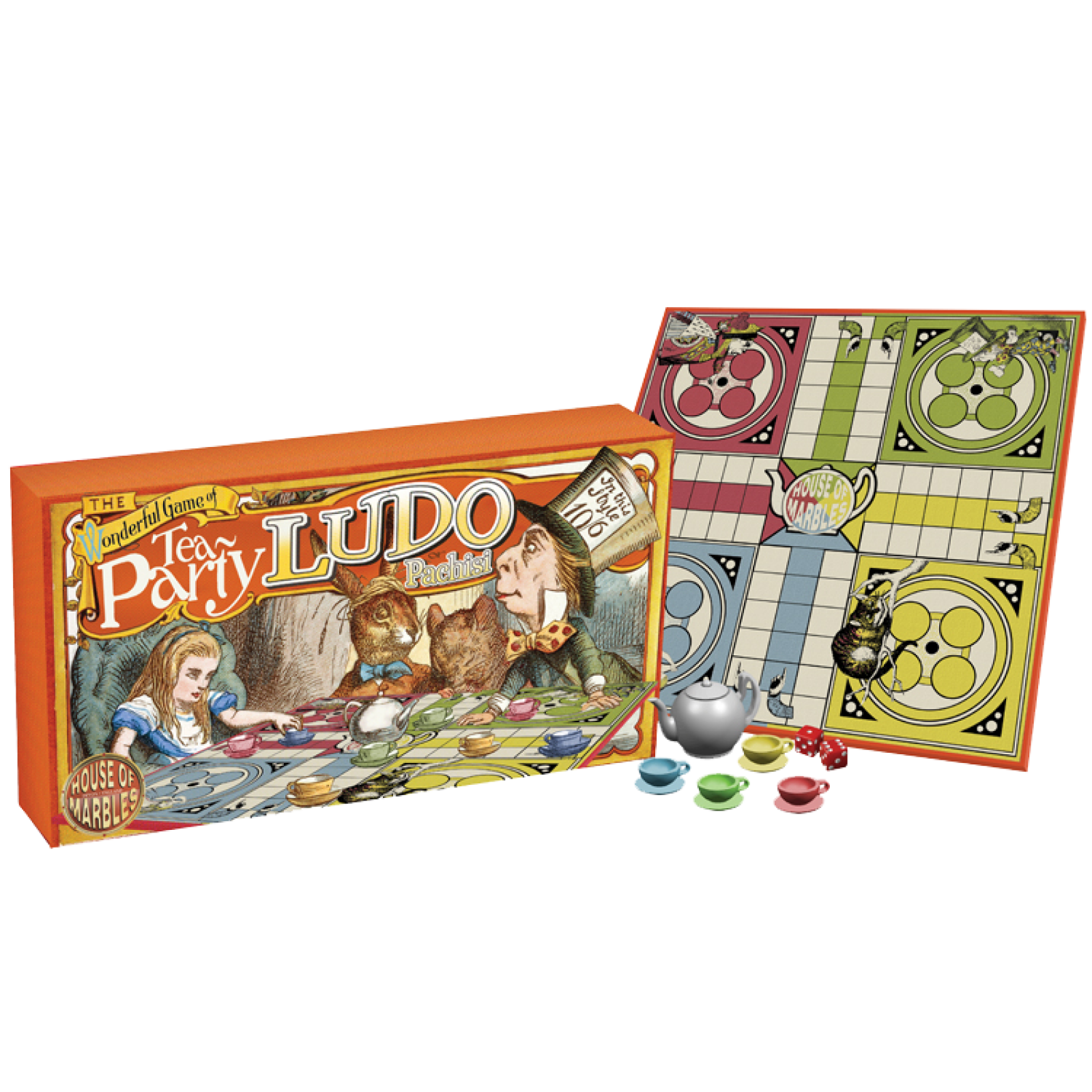 Tea Party Ludo Board Game thumbnails