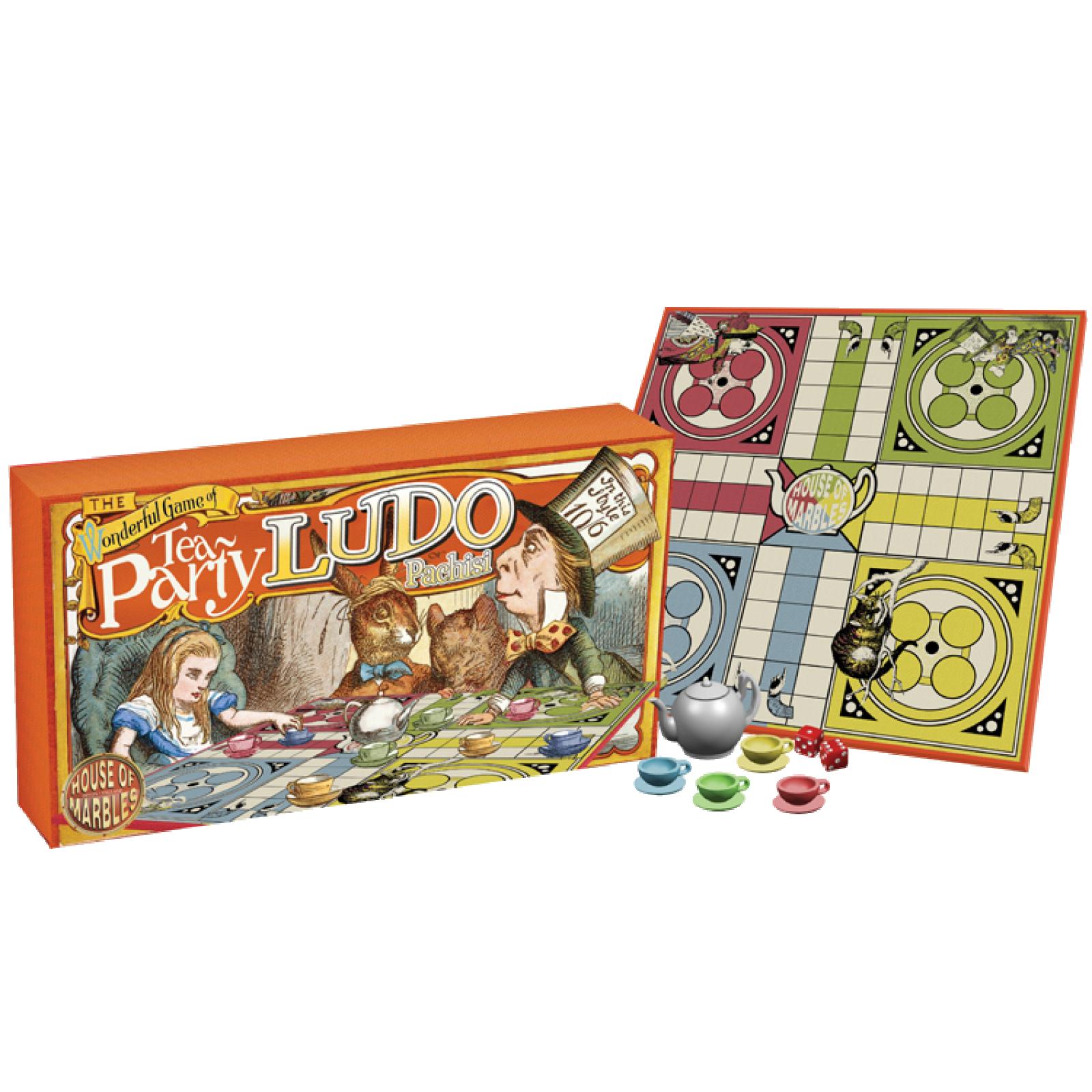 Tea Party Ludo Board Game