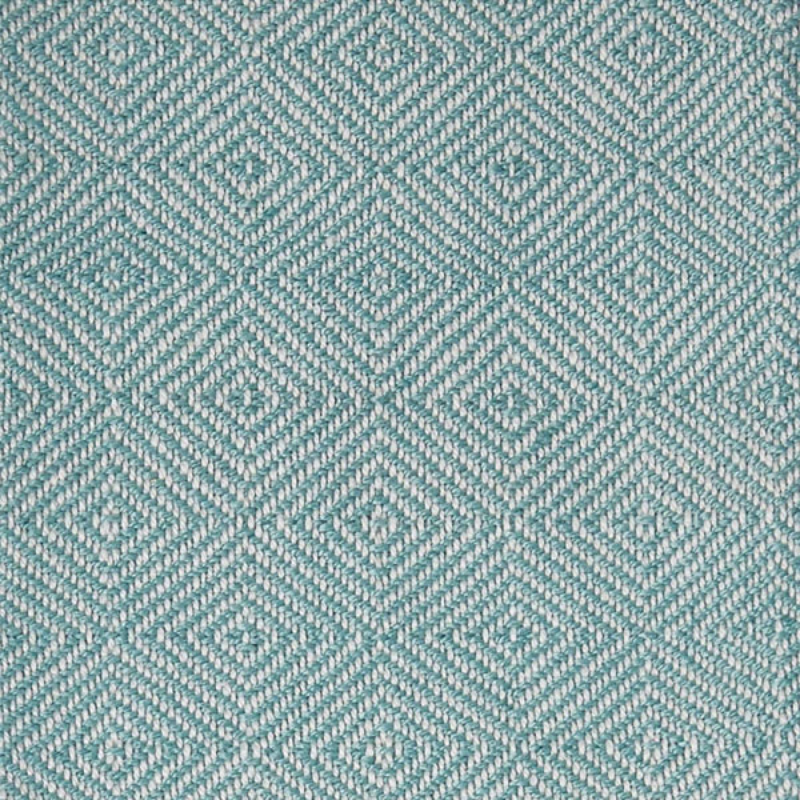 Teal Azure Diamond Blanket From Recycled Bottles thumbnails