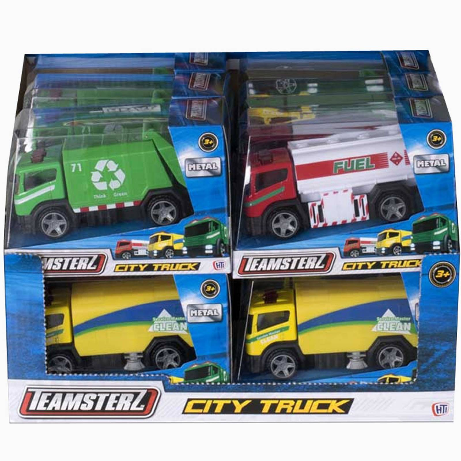 Teamsterz City Truck - Assorted Design thumbnails