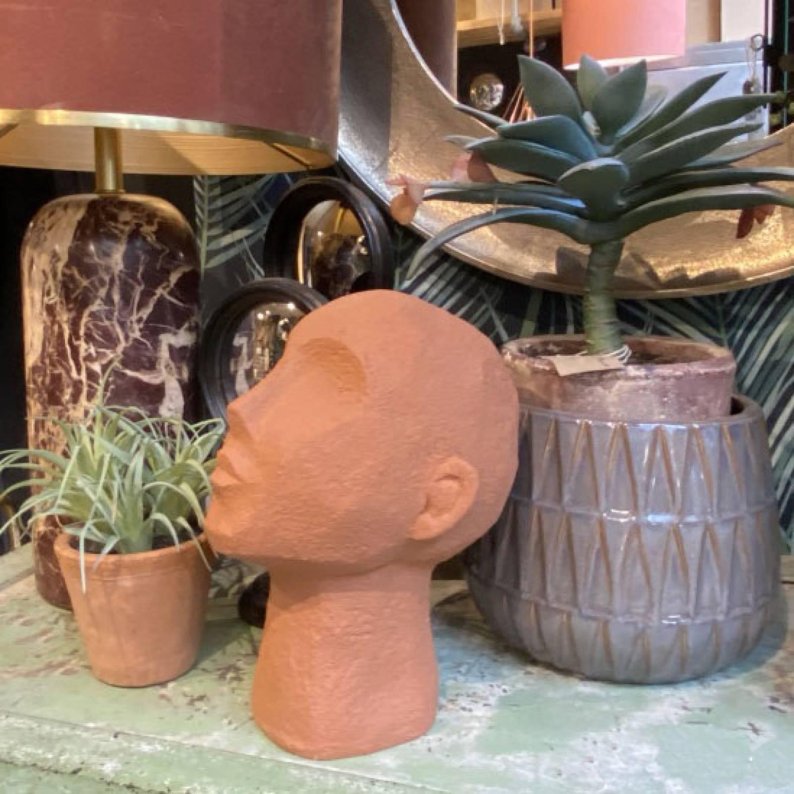 Gazing Head Model In Terracotta Orange thumbnails