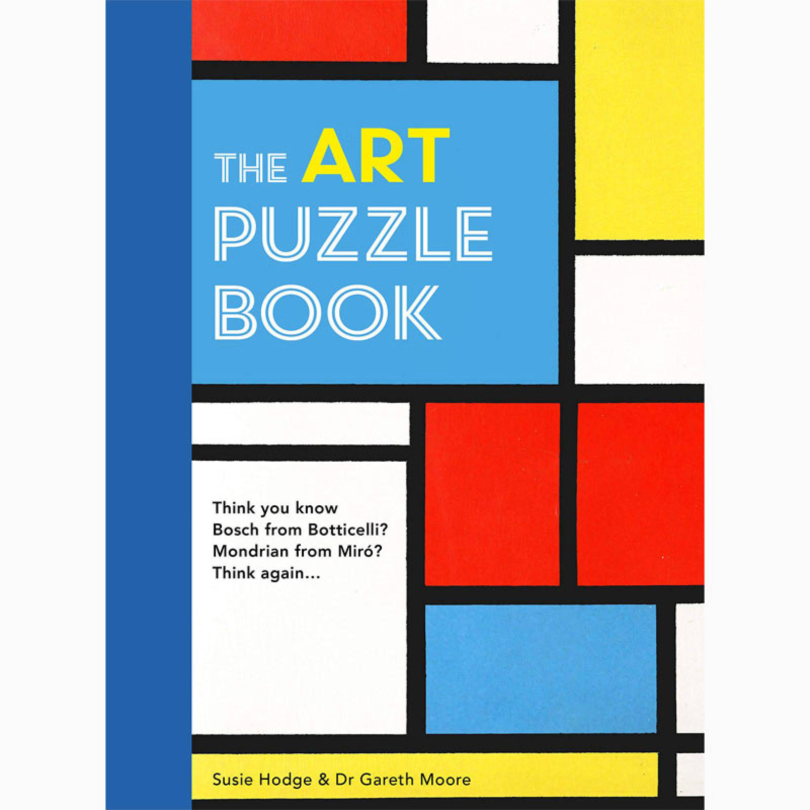 The Art Puzzle Book - Paperback Book