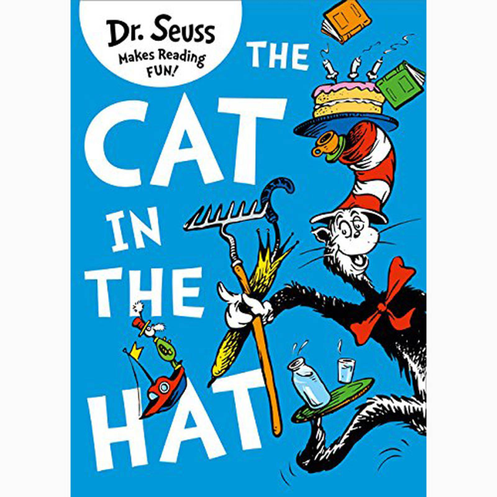 The Cat In The Hat By Dr. Seuss - Paperback Book