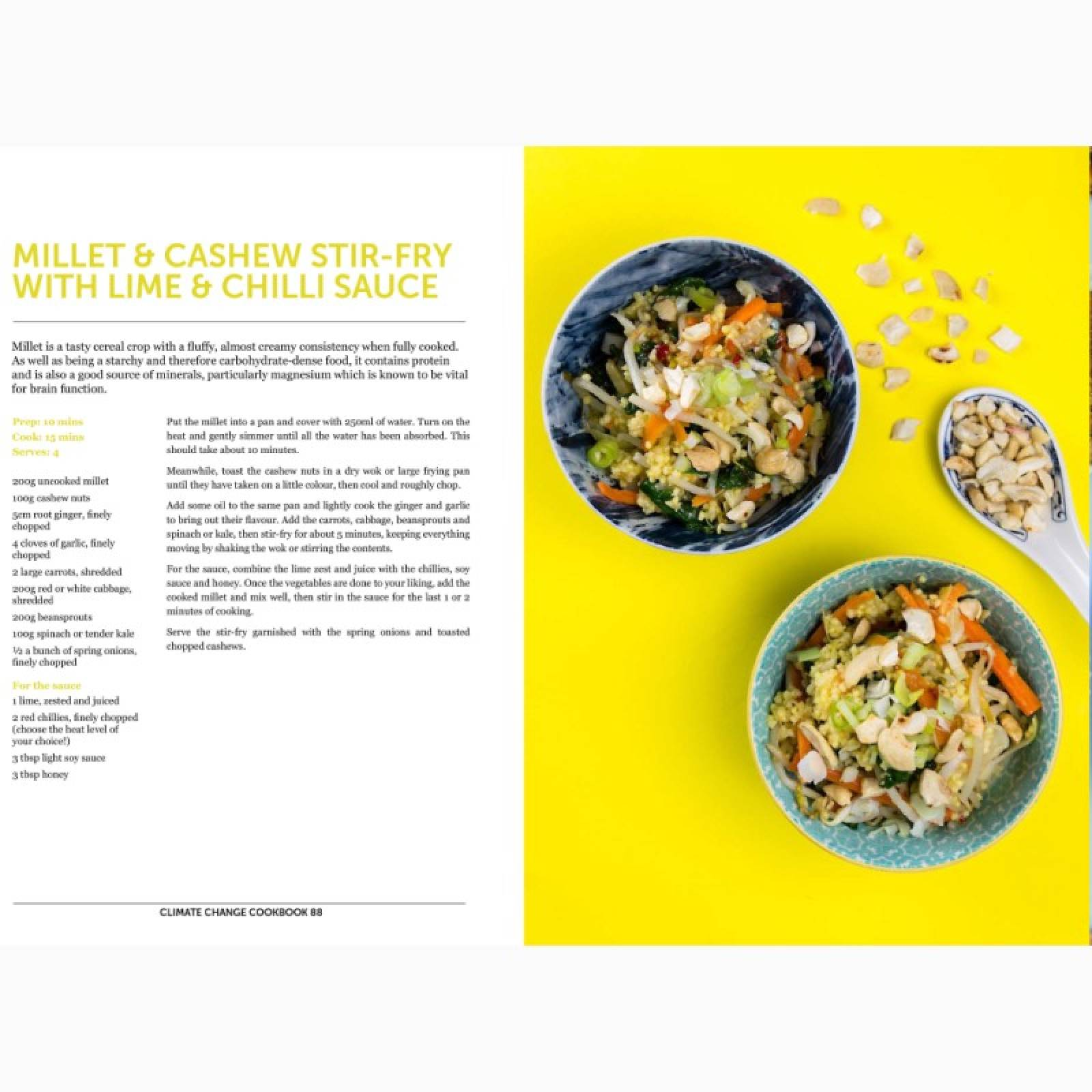 The Climate Change Cook Book - Hardback Book thumbnails