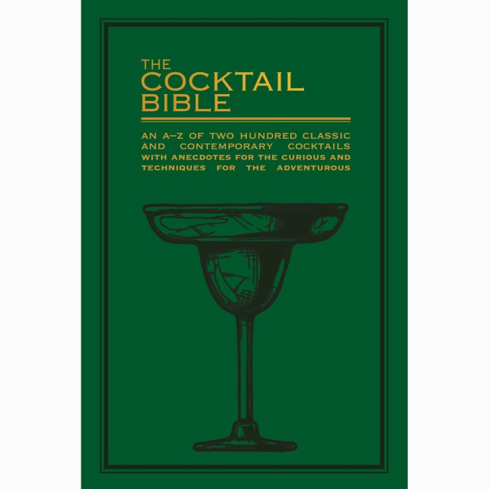 The Cocktail Bible - Paperback Book