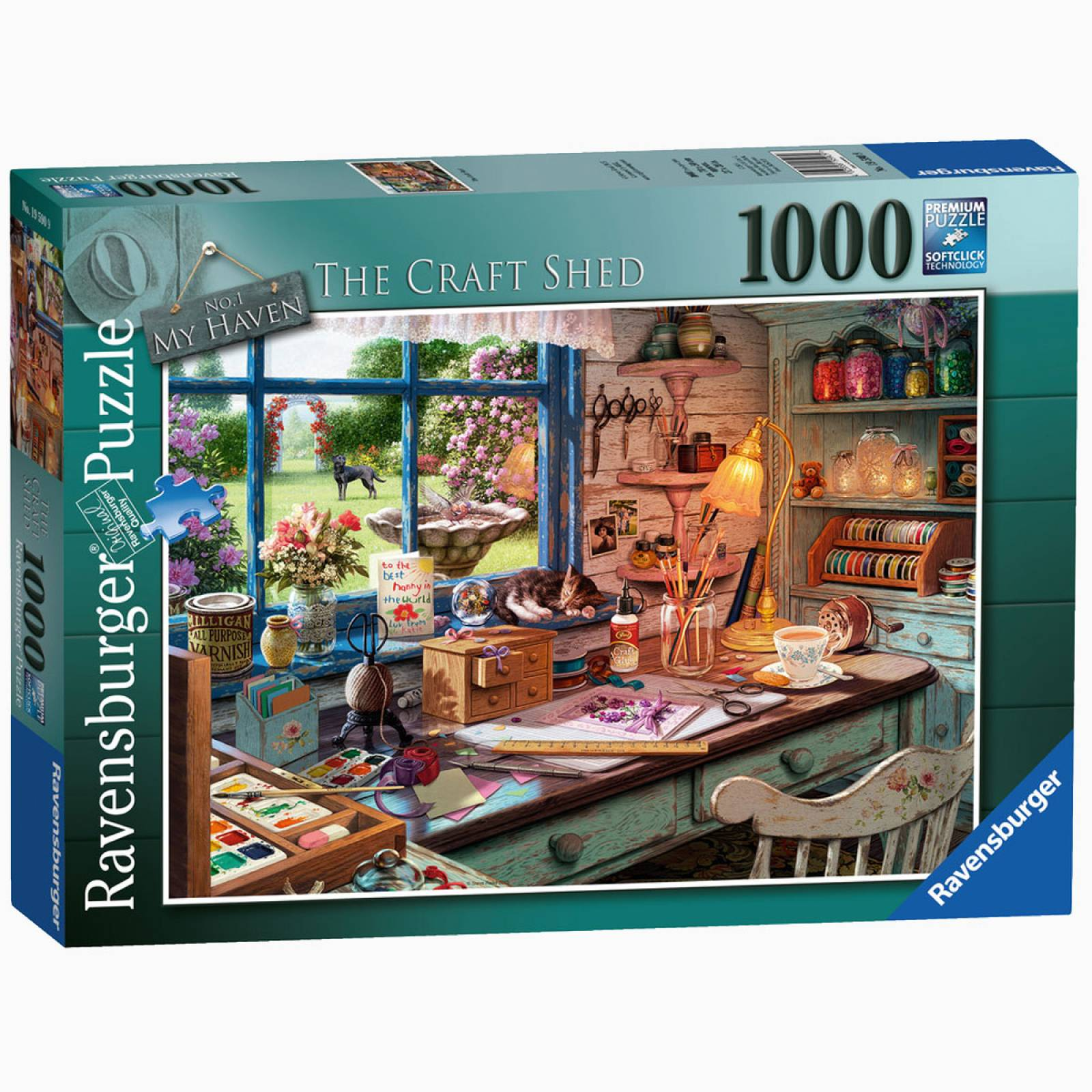 The Craft Shed Jigsaw Puzzle 1000pc Ages 13 +